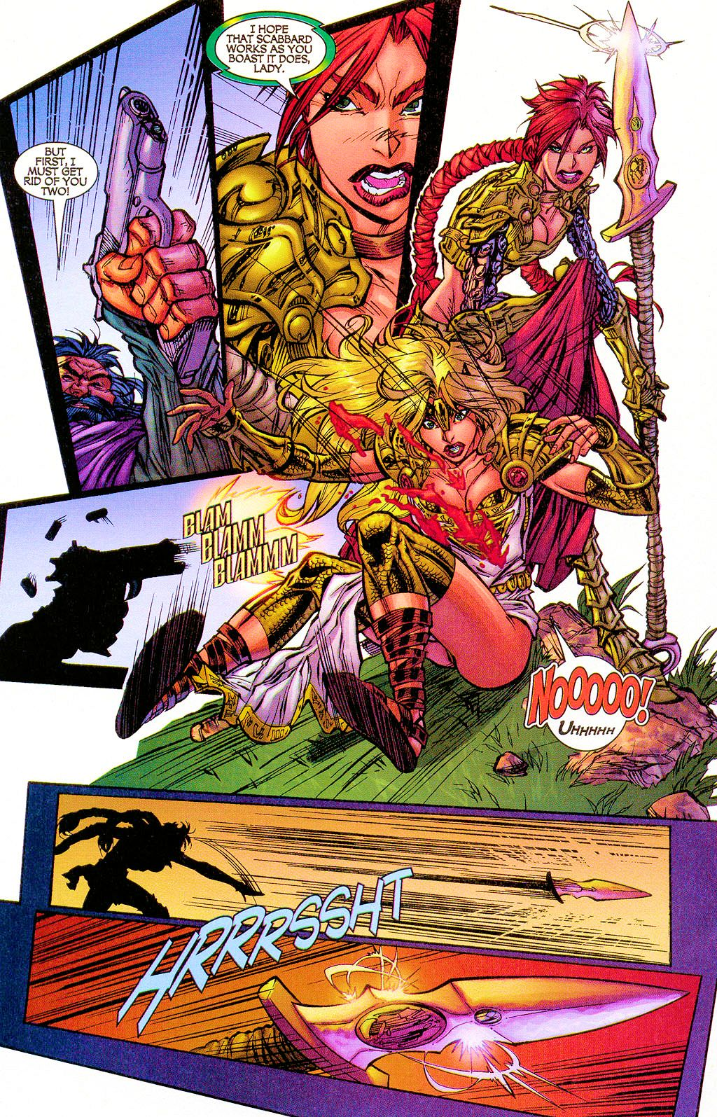 Read online Lady Pendragon / More Than Mortal comic -  Issue #1 - 22
