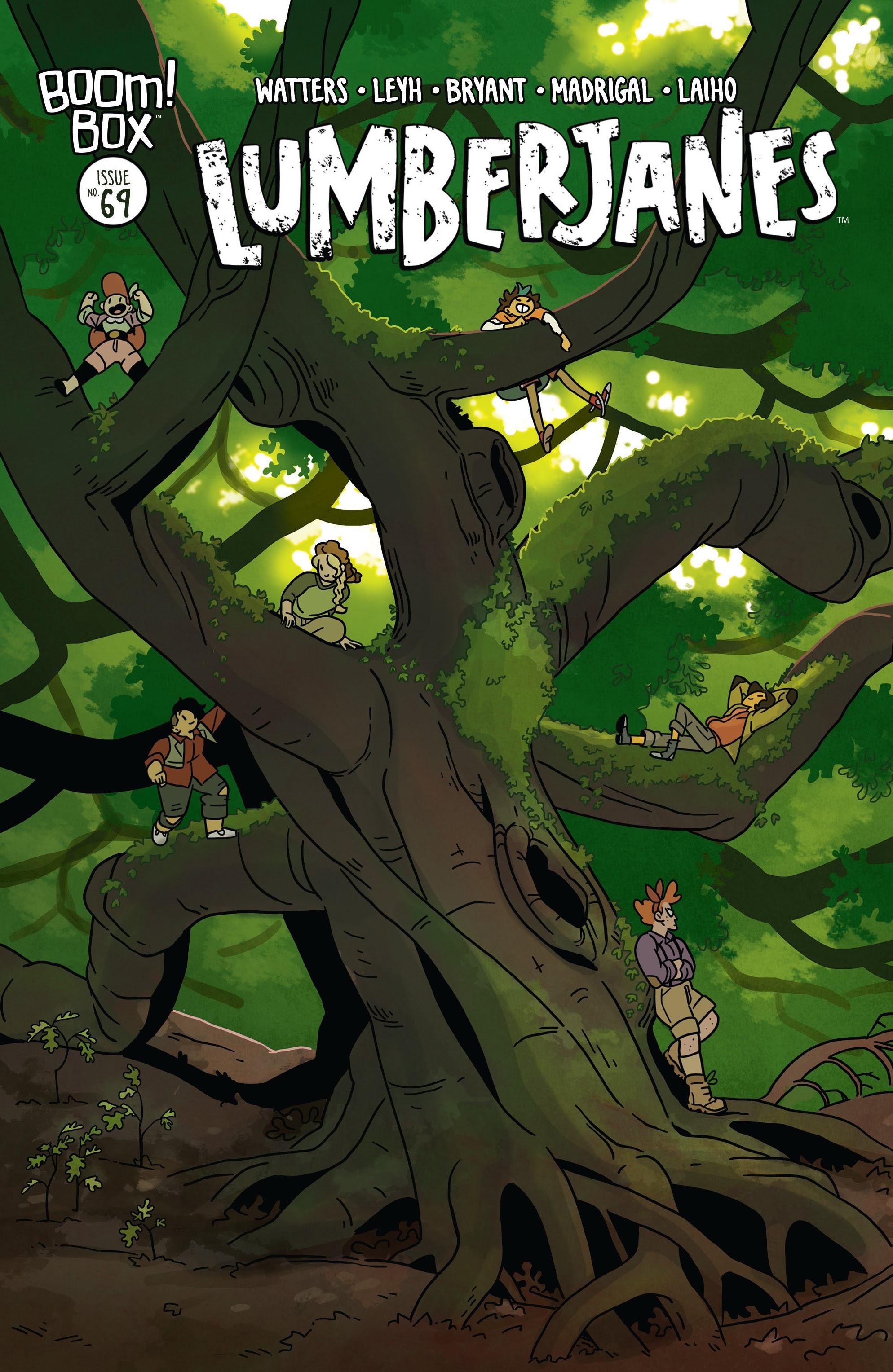 Lumberjanes 69 Page 1