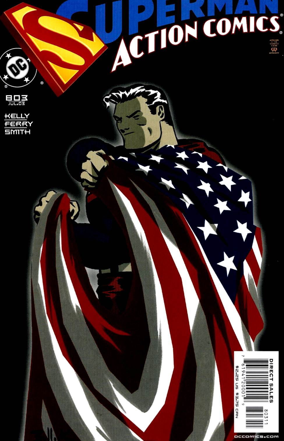 Read online Action Comics (1938) comic -  Issue #803 - 1