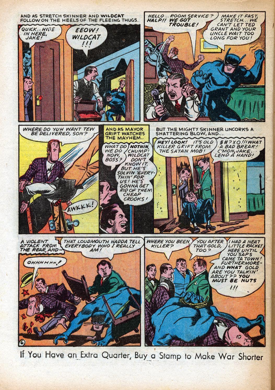 Read online Sensation (Mystery) Comics comic -  Issue #33 - 46