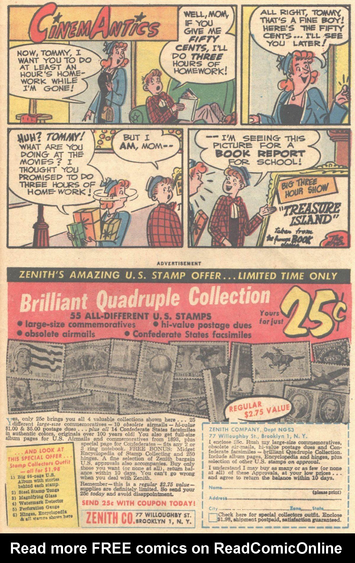 Read online Adventure Comics (1938) comic -  Issue #316 - 34