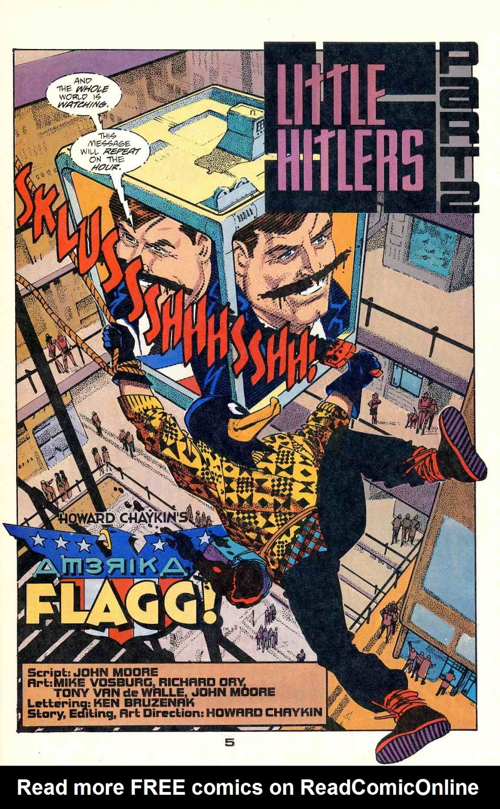 Howard Chaykin's American Flagg issue 2 - Page 7