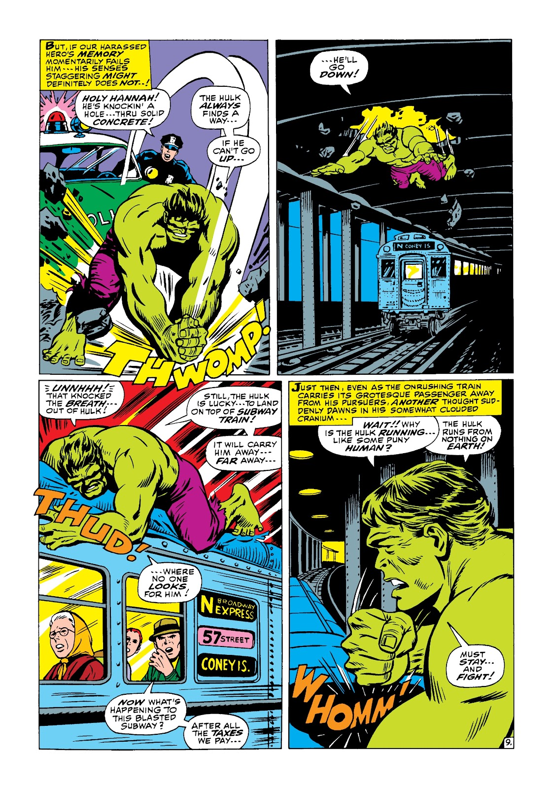 Read online Marvel Masterworks: The Incredible Hulk comic -  Issue # TPB 4 (Part 1) - 58