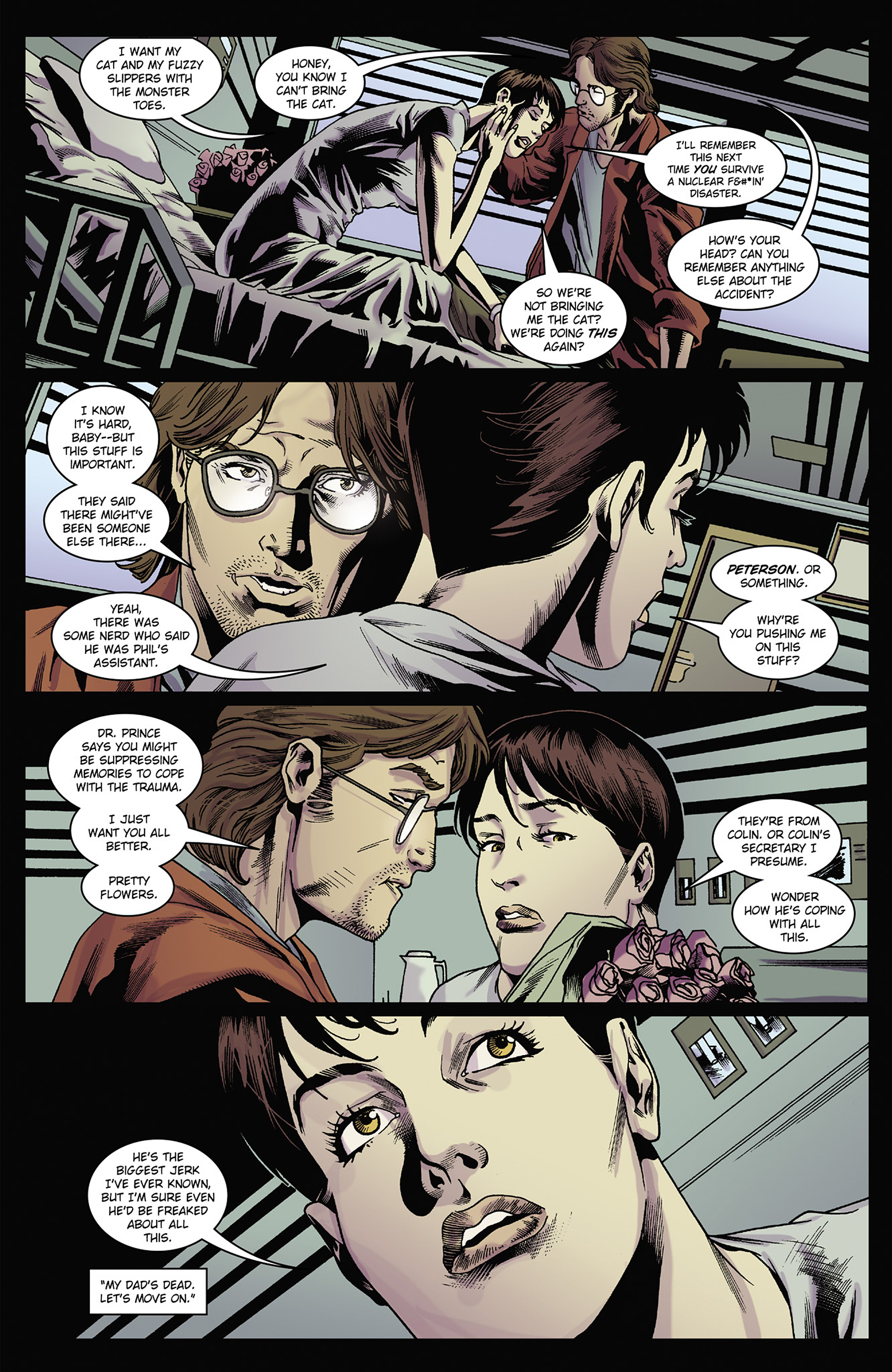 Read online Solar: Man of the Atom (2014) comic -  Issue #2 - 10