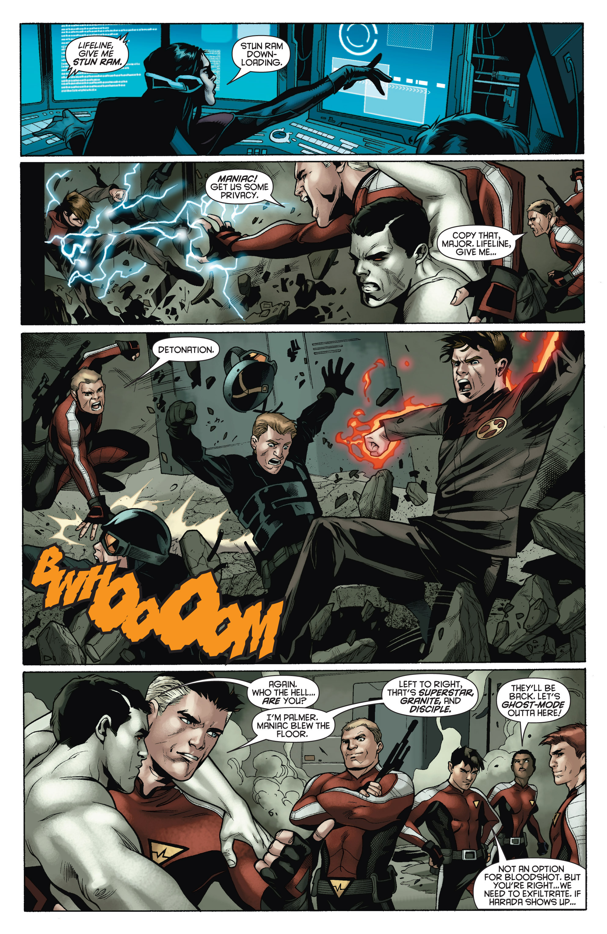 Read online Bloodshot and H.A.R.D.Corps comic -  Issue # TPB 4 - 33