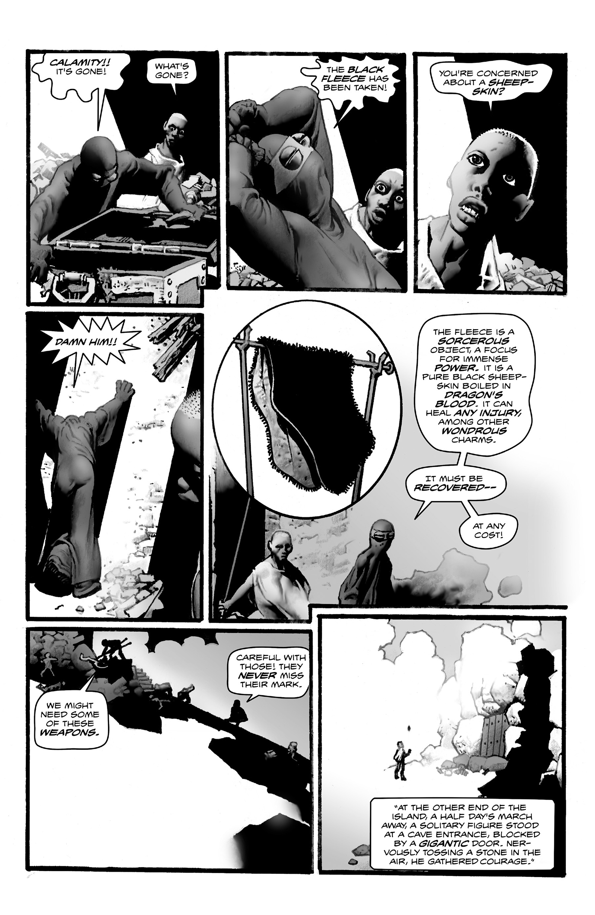 Read online Shadows on the Grave comic -  Issue #4 - 21