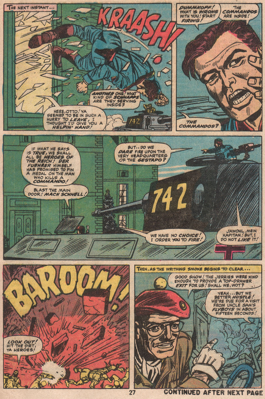 Read online Sgt. Fury comic -  Issue #133 - 29