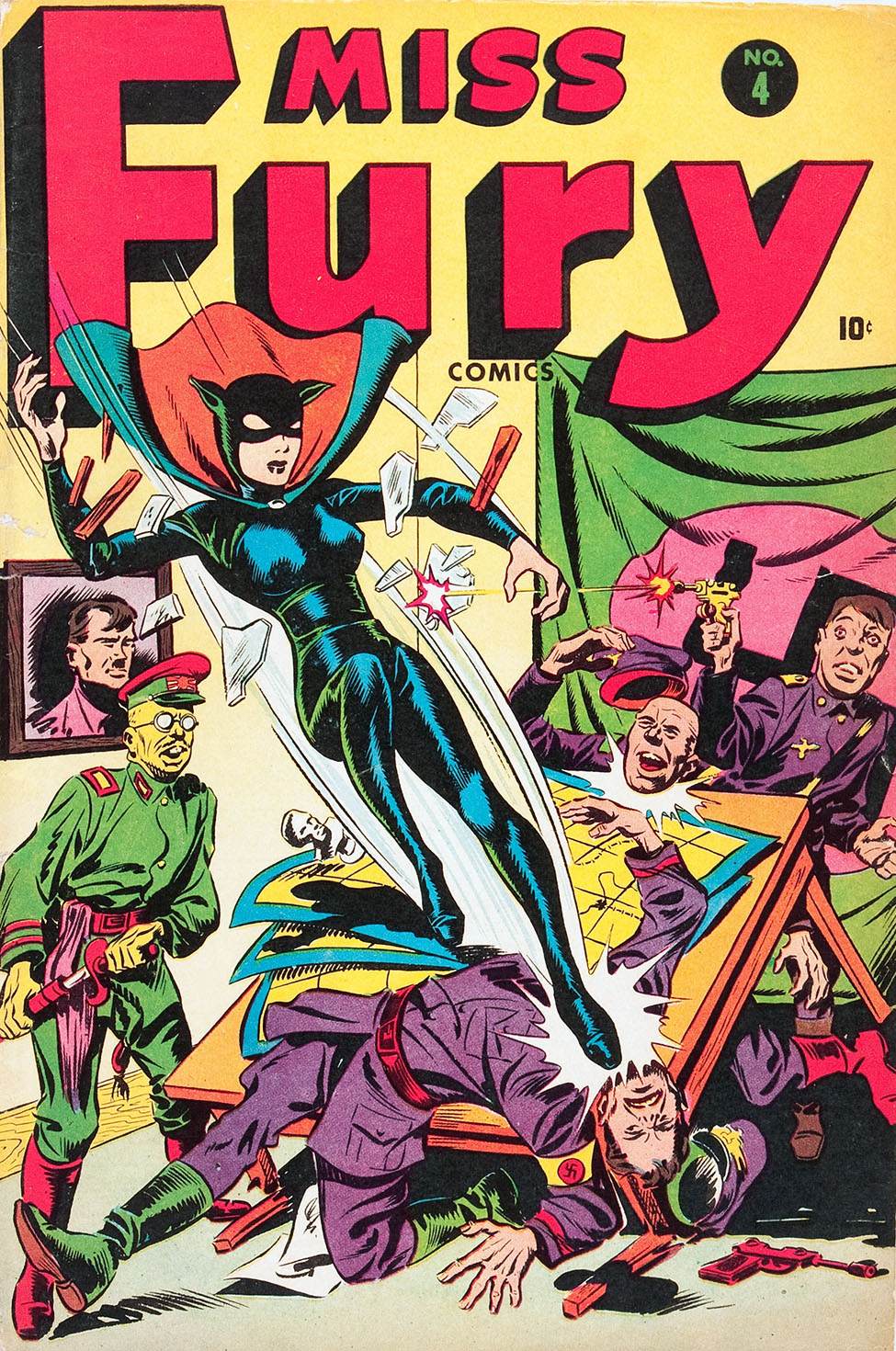 Miss Fury (1942) issue 4 - Page 1