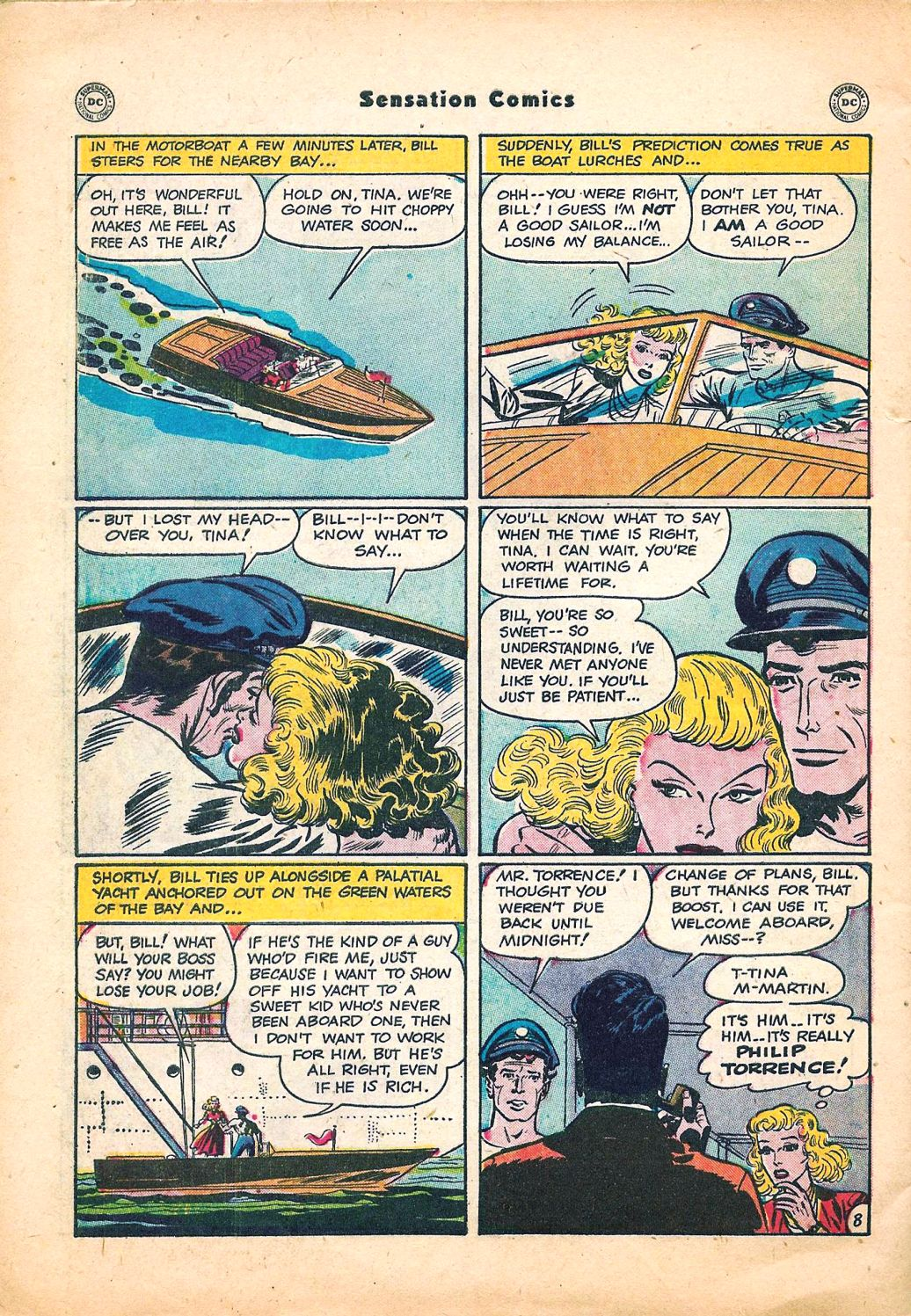 Read online Sensation (Mystery) Comics comic -  Issue #95 - 44