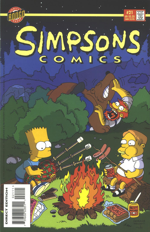 Read online Simpsons Comics comic -  Issue #21 - 1