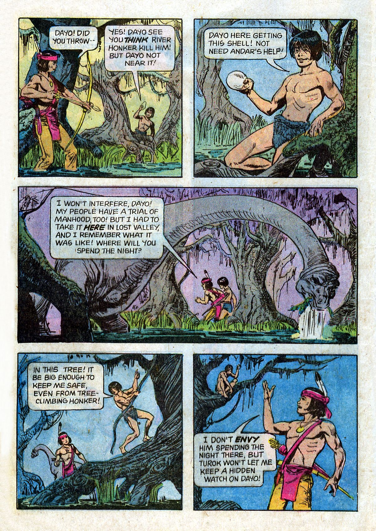Read online Turok, Son of Stone comic -  Issue #124 - 12