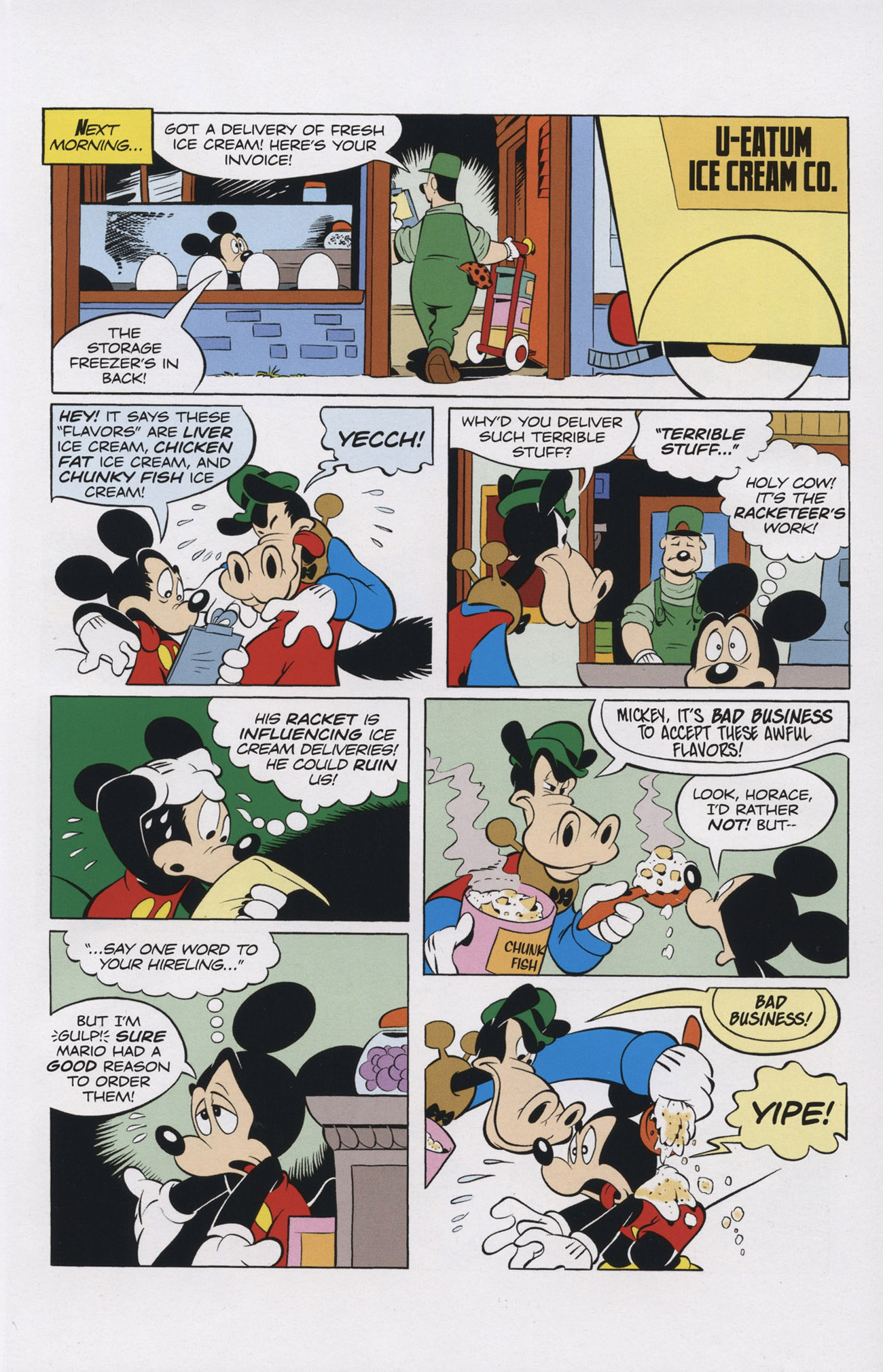 Read online Mickey Mouse (2011) comic -  Issue #308 - 17