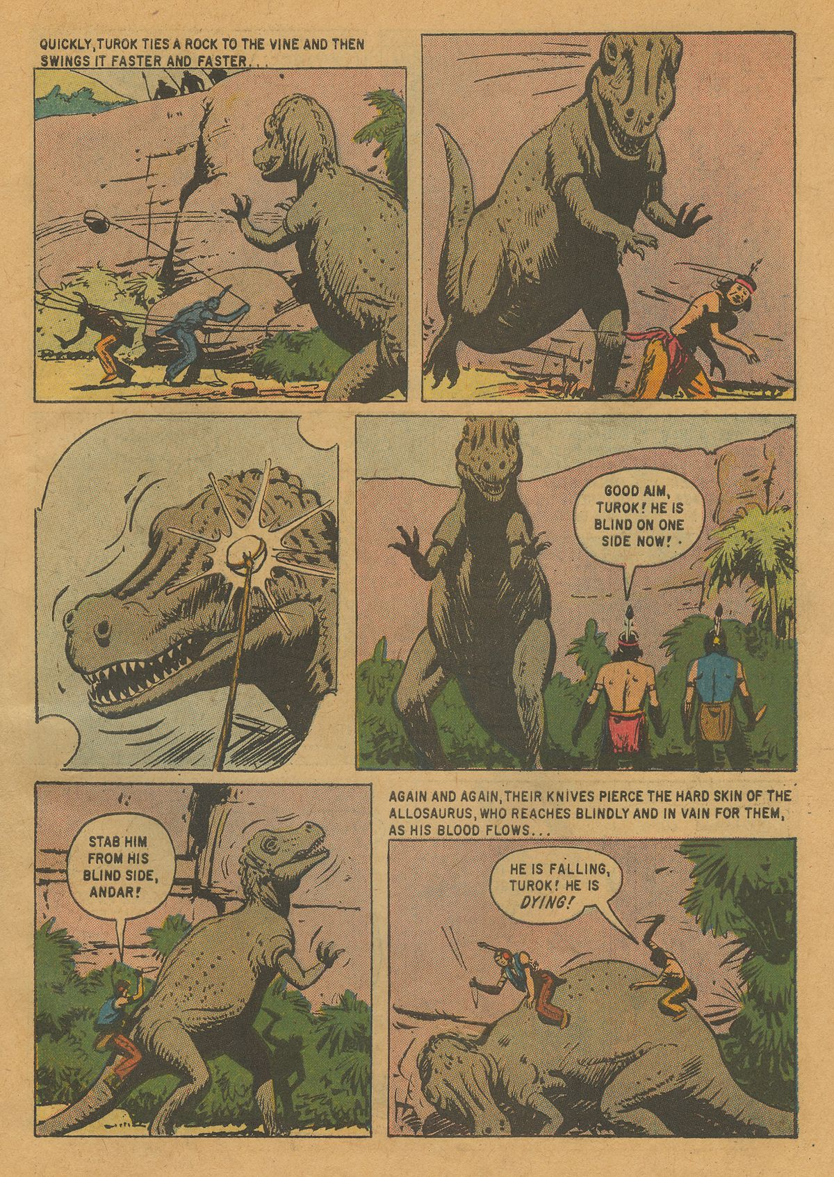 Read online Turok, Son of Stone comic -  Issue #22 - 31