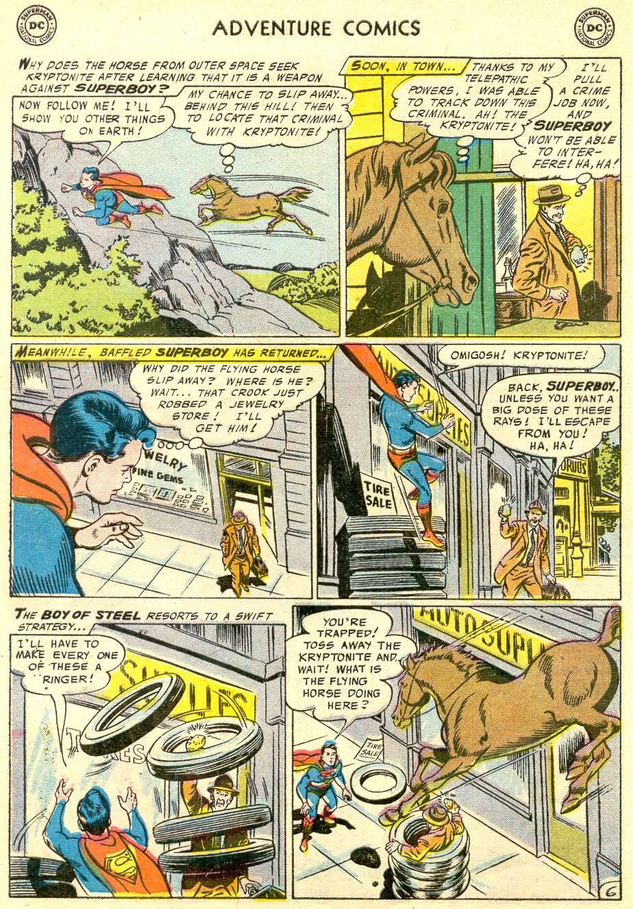 Read online Adventure Comics (1938) comic -  Issue #230 - 8