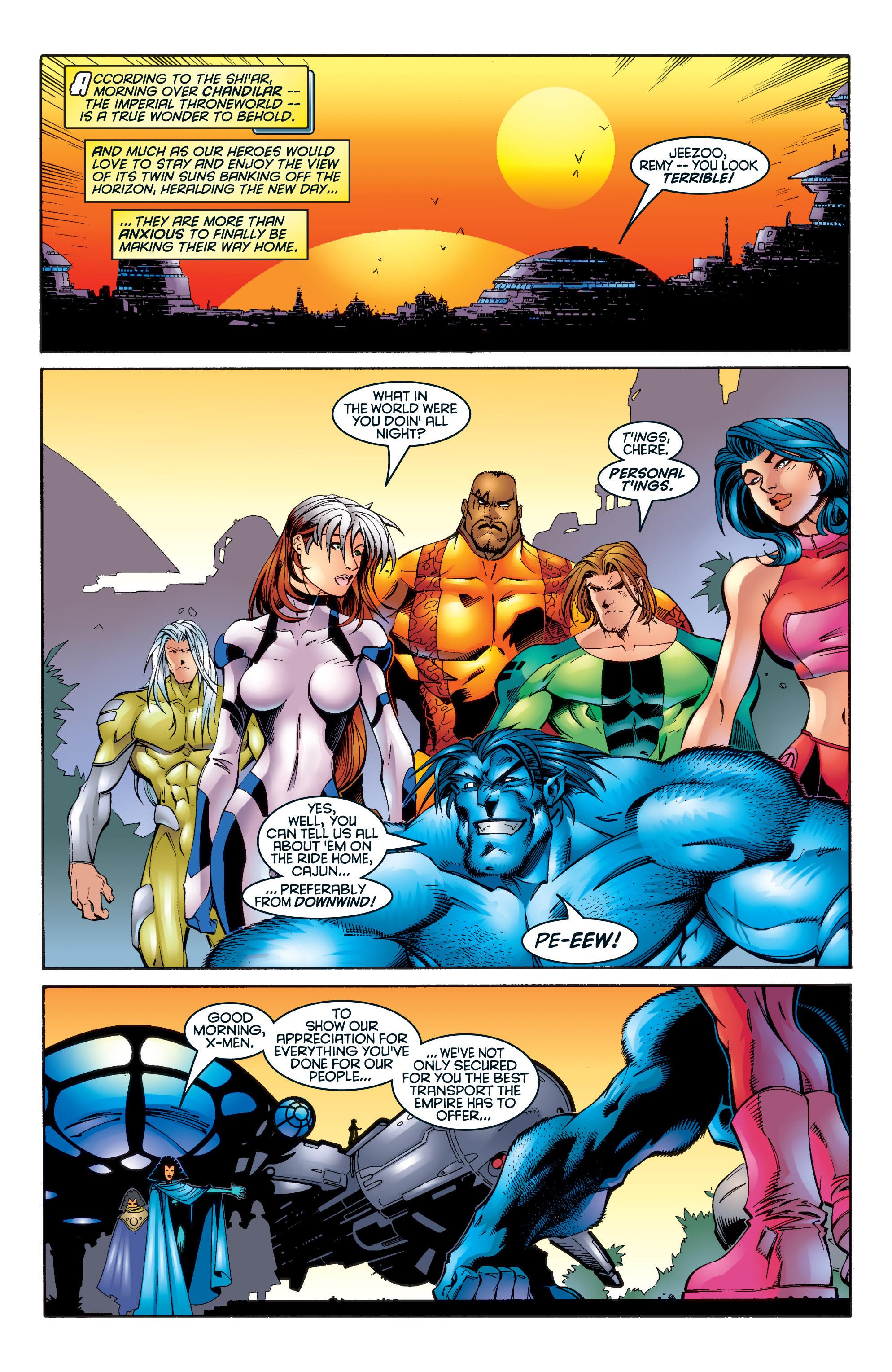 Read online Uncanny X-Men (1963) comic -  Issue #345 - 15