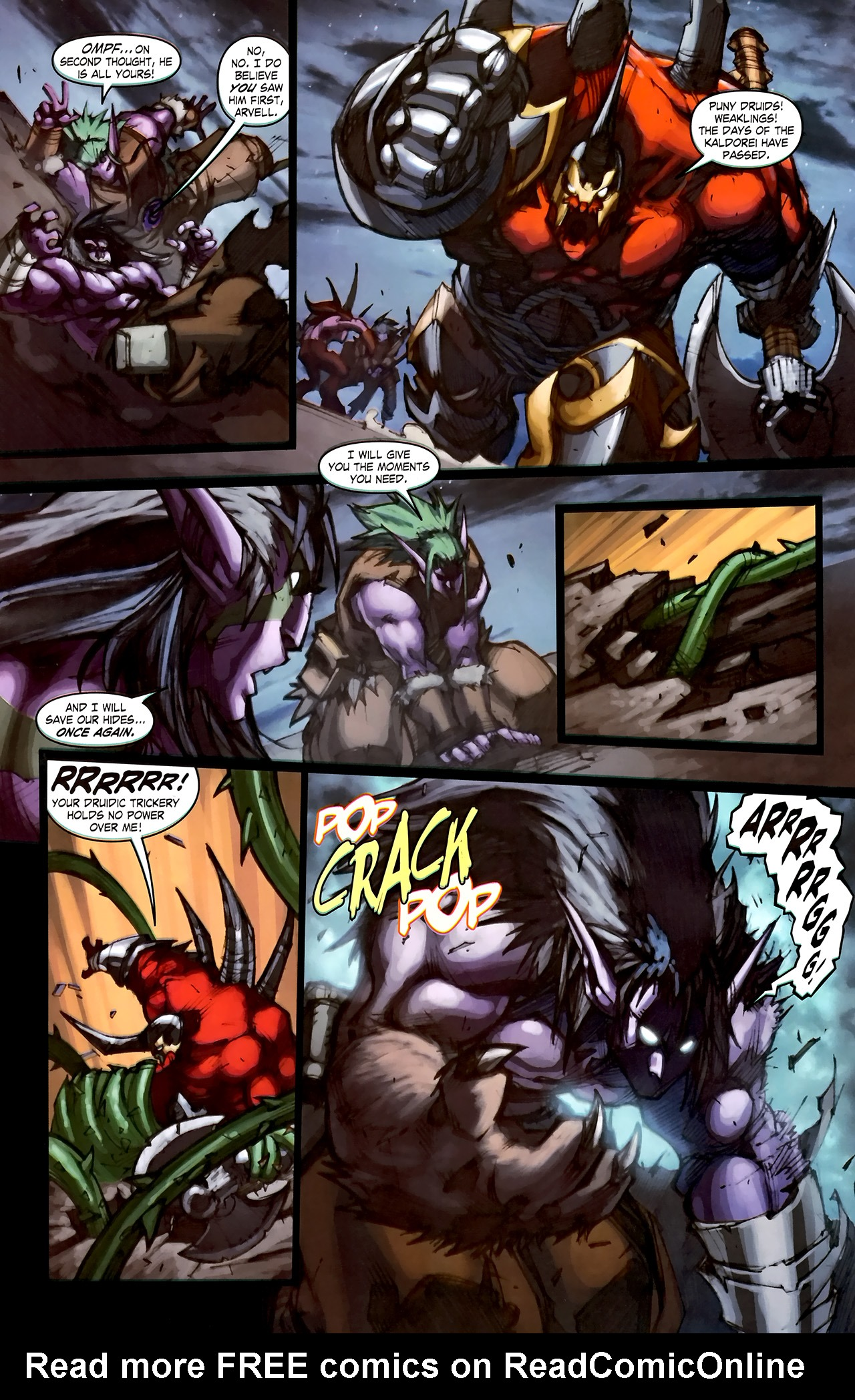 Read online World of Warcraft: Curse of the Worgen comic -  Issue #1 - 22