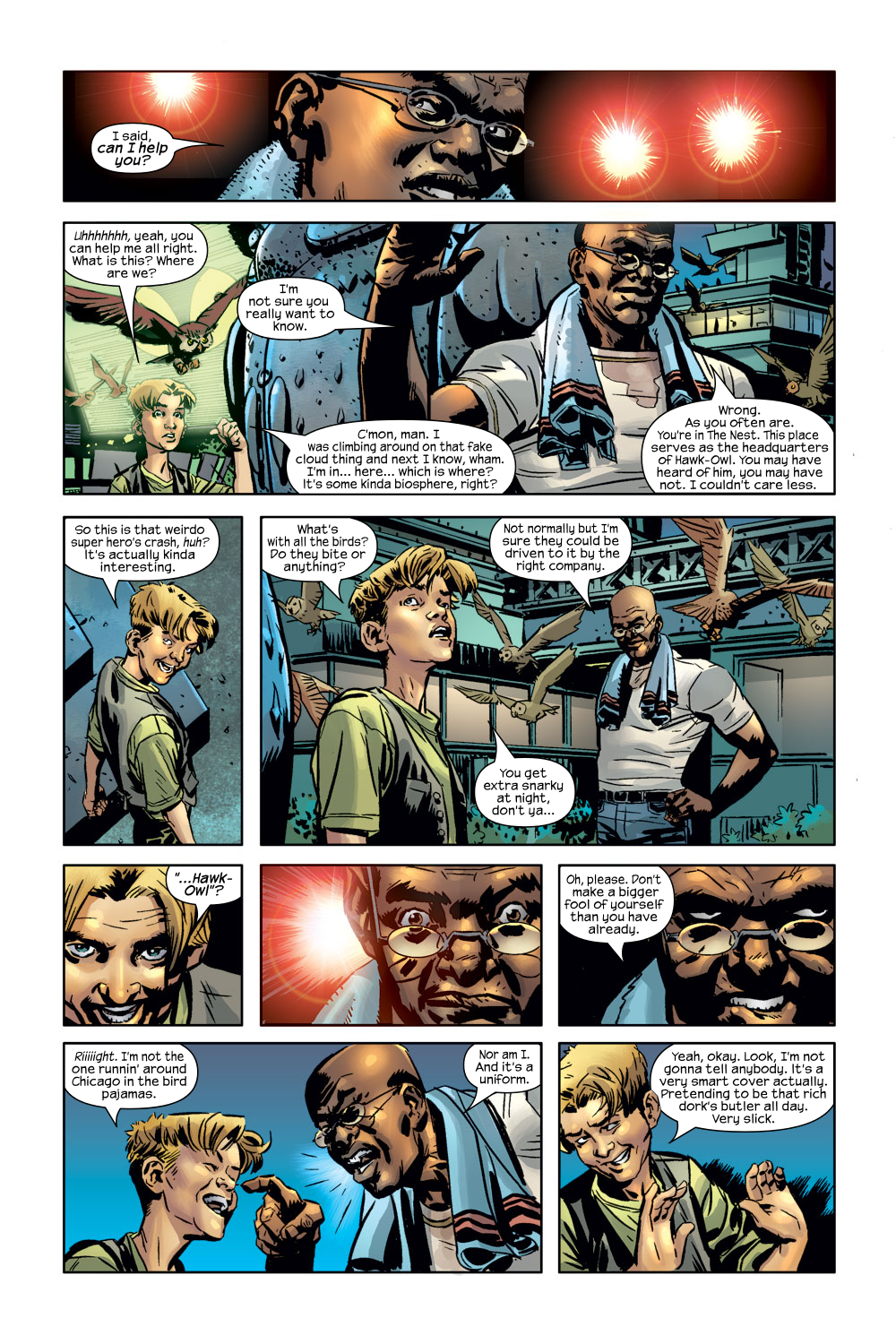 Read online Ultimate Adventures comic -  Issue #3 - 5