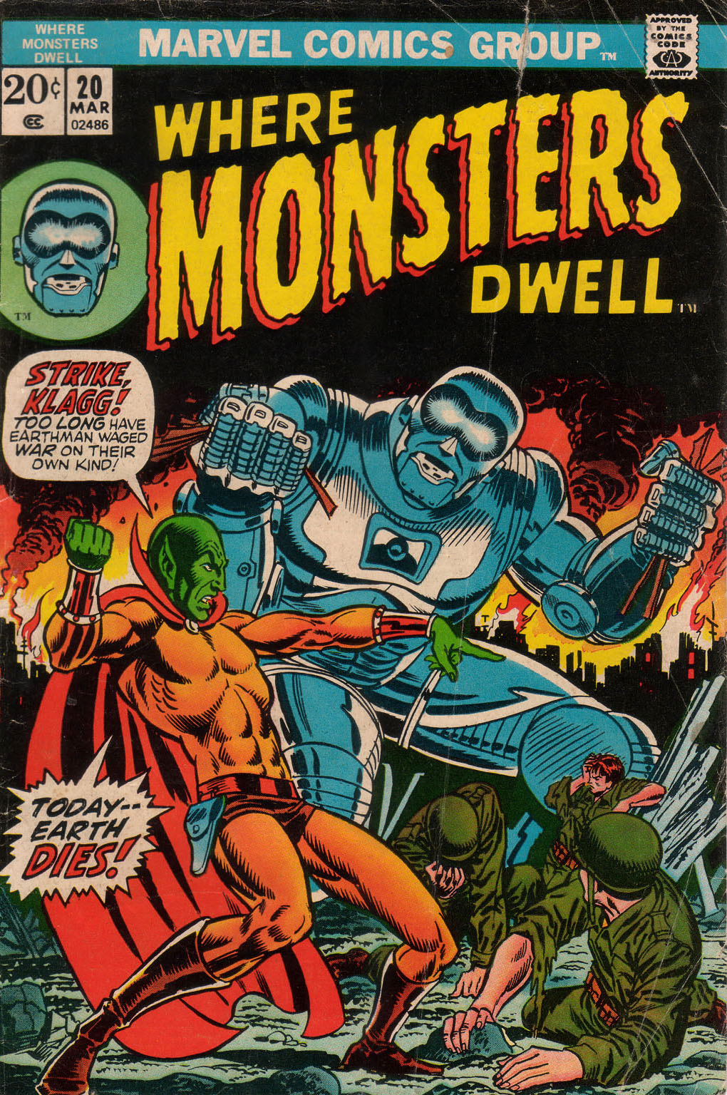 Where Monsters Dwell (1970) 20 Page 1