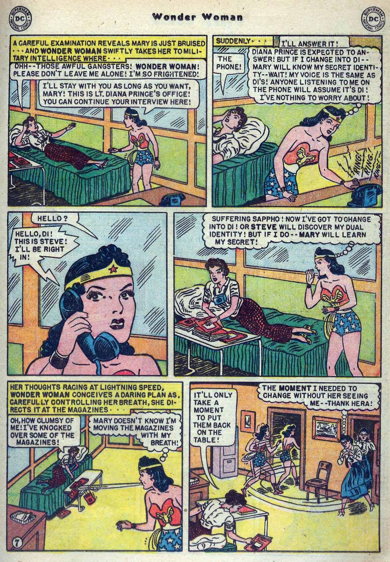 Read online Wonder Woman (1942) comic -  Issue #53 - 21