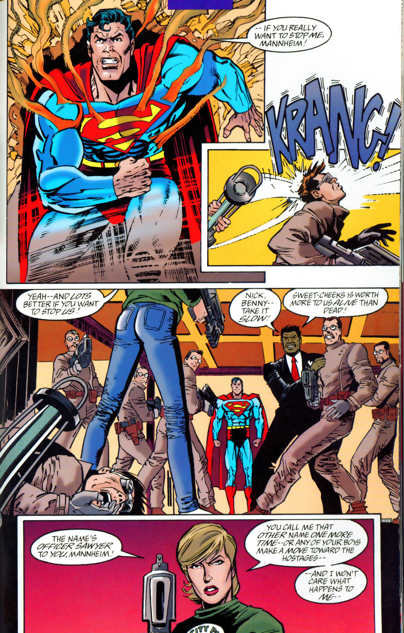 Read online Adventures of Superman (1987) comic -  Issue #Adventures of Superman (1987) _Annual 7 - 32