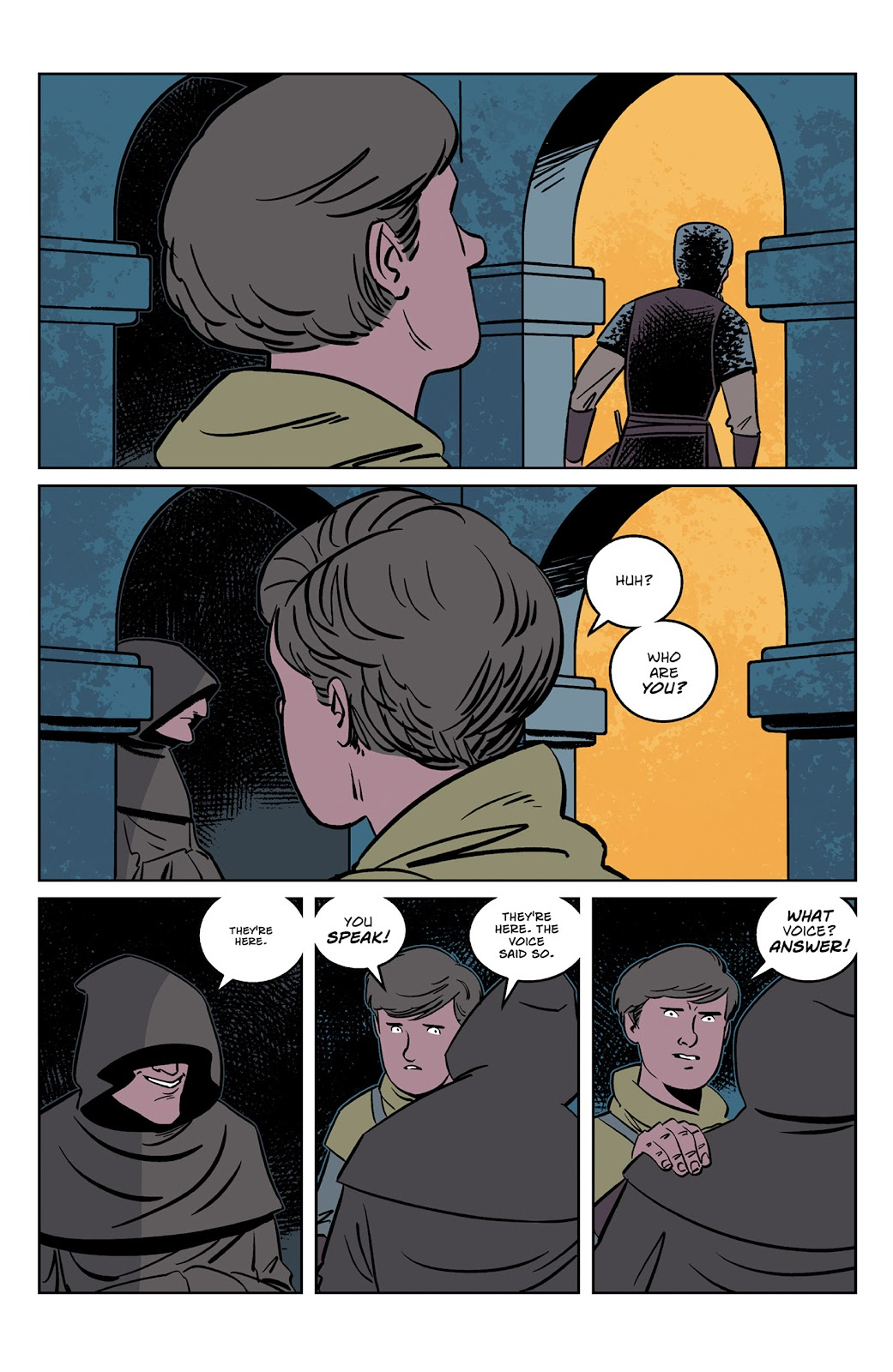 Read online Dark Ages comic -  Issue #2 - 8