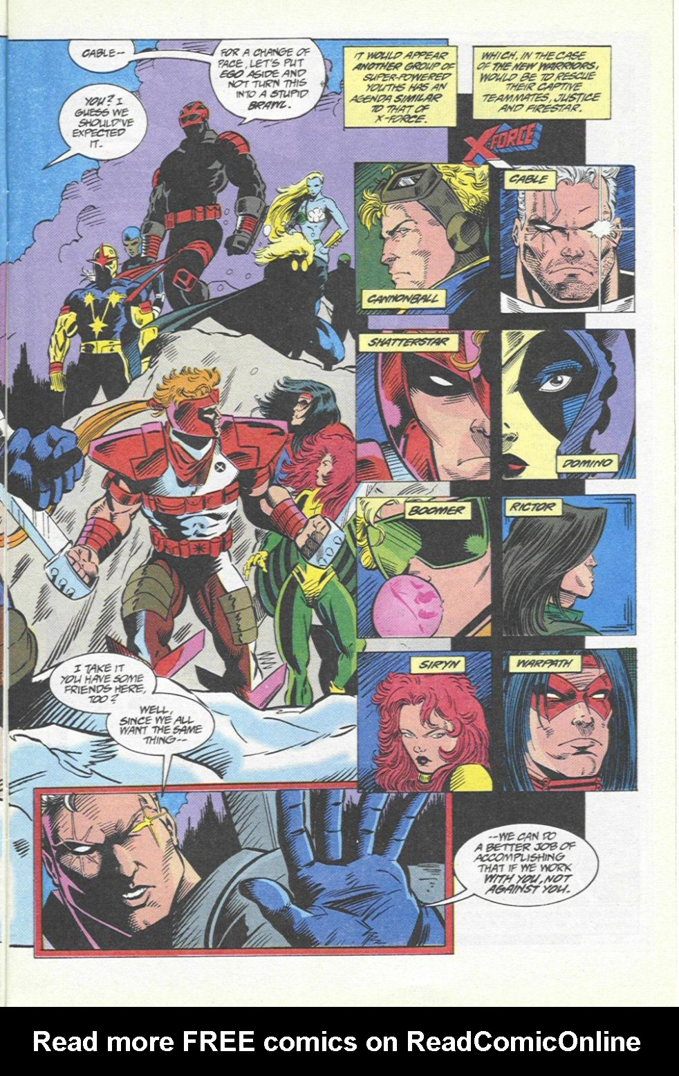 The New Warriors Issue #46 #50 - English 4