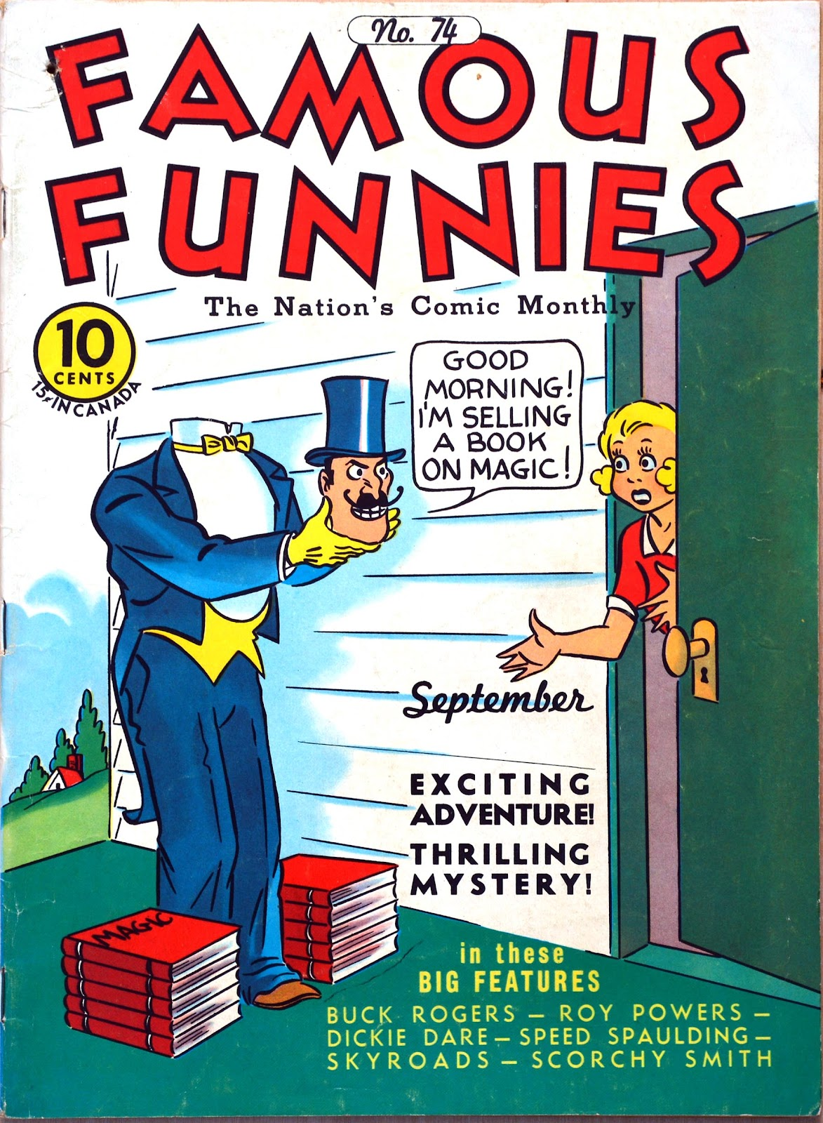 Read online Famous Funnies comic -  Issue #74 - 1
