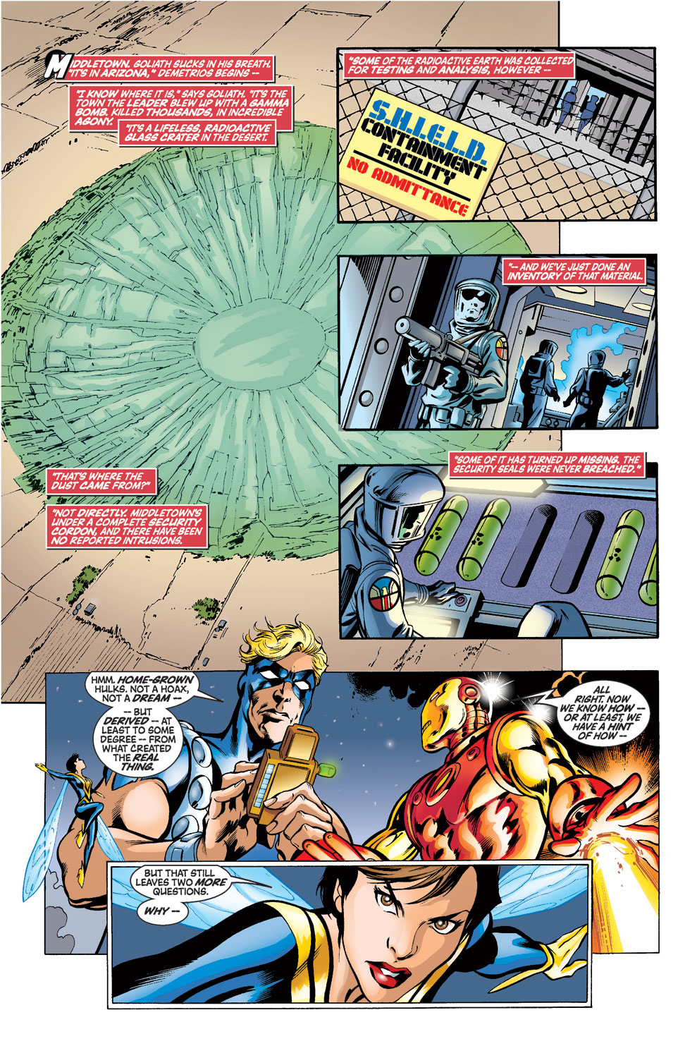 Read online Avengers (1998) comic -  Issue #39 - 15