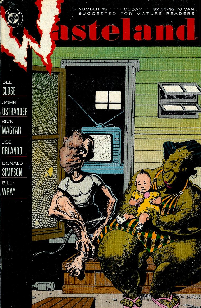 Wasteland (1987) 15 Page 1
