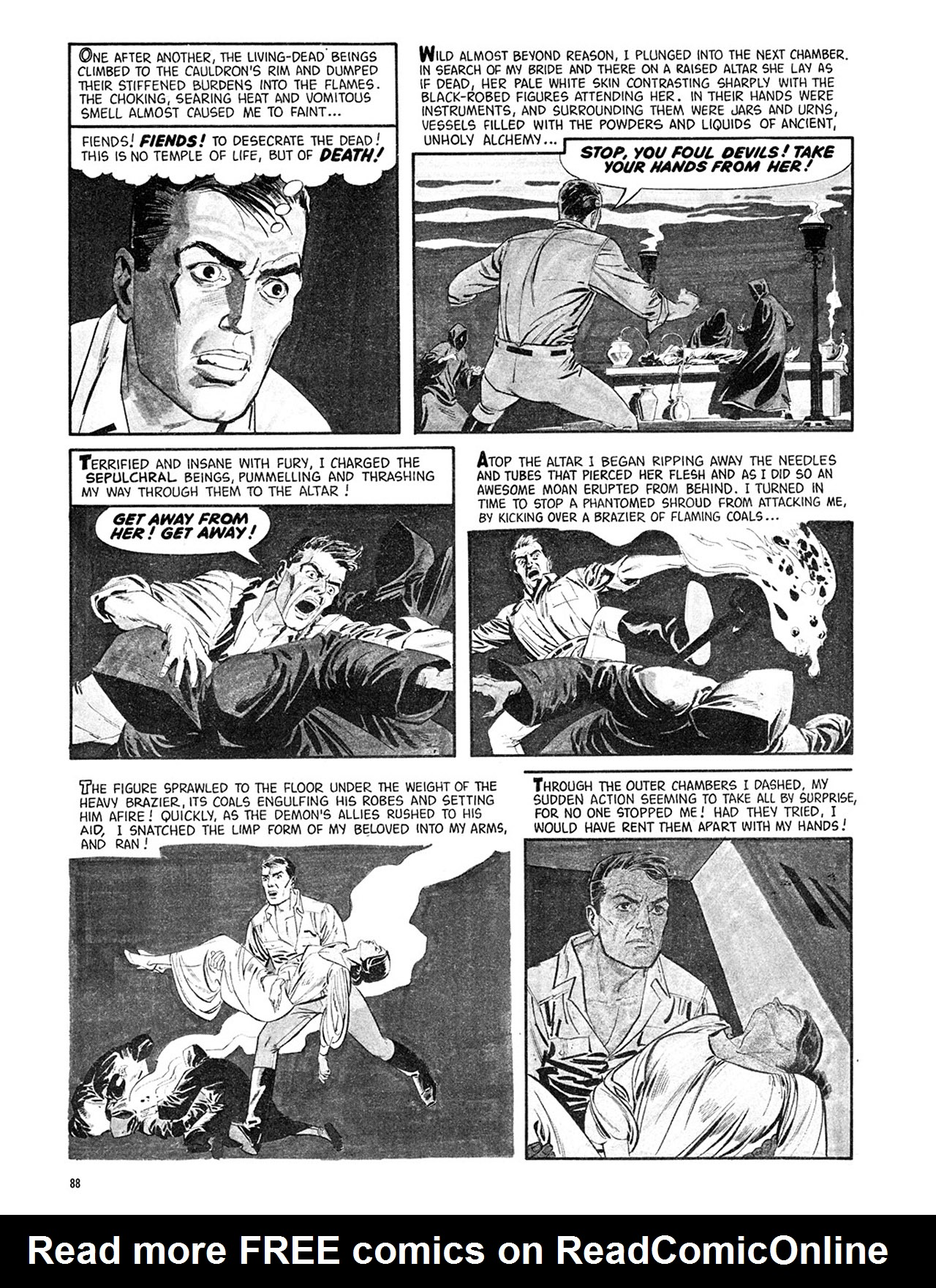 Read online Eerie Archives comic -  Issue # TPB 3 - 89