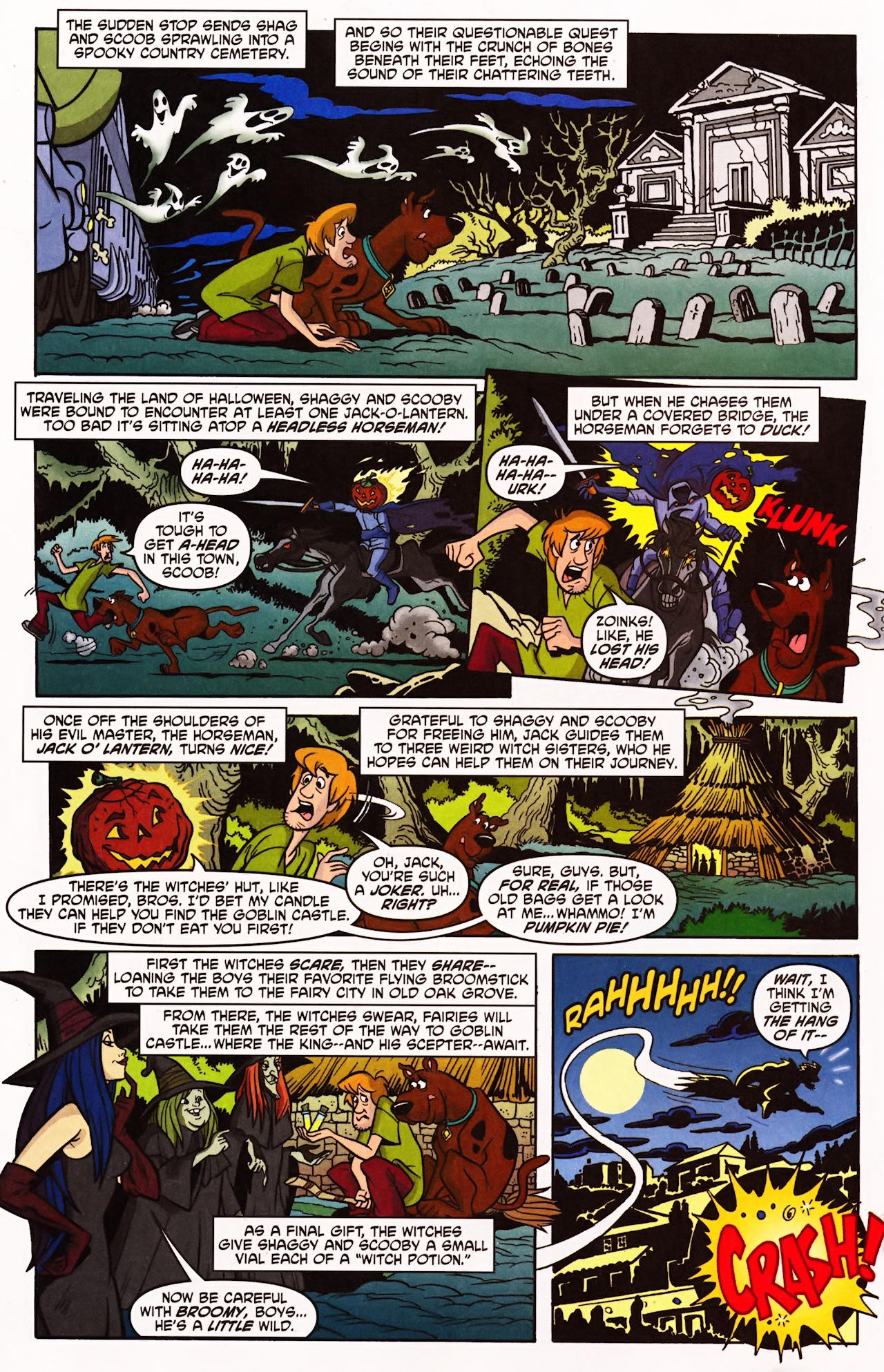 Read online Scooby-Doo (1997) comic -  Issue #141 - 9
