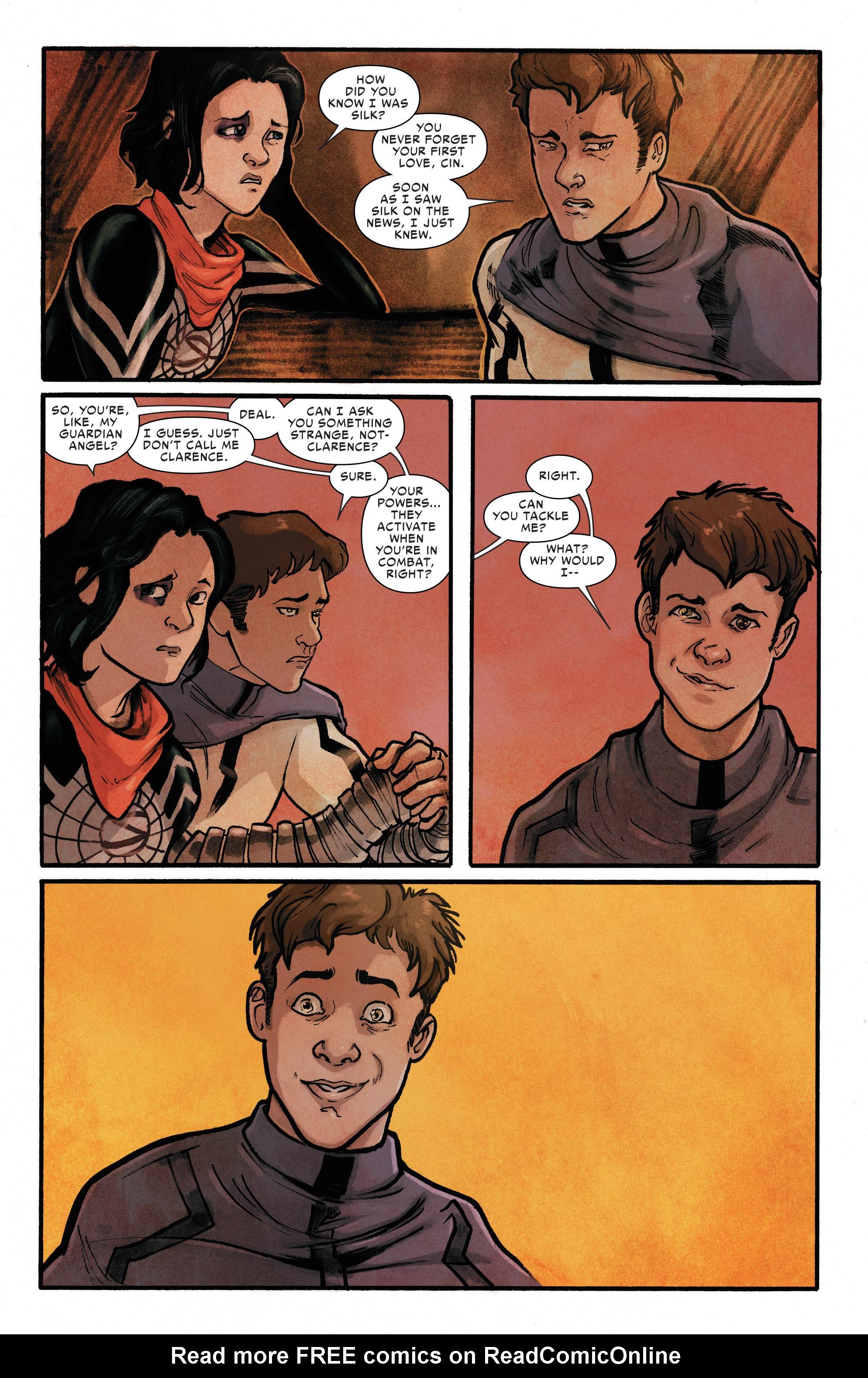 Read online Silk (2016) comic -  Issue #11 - 8