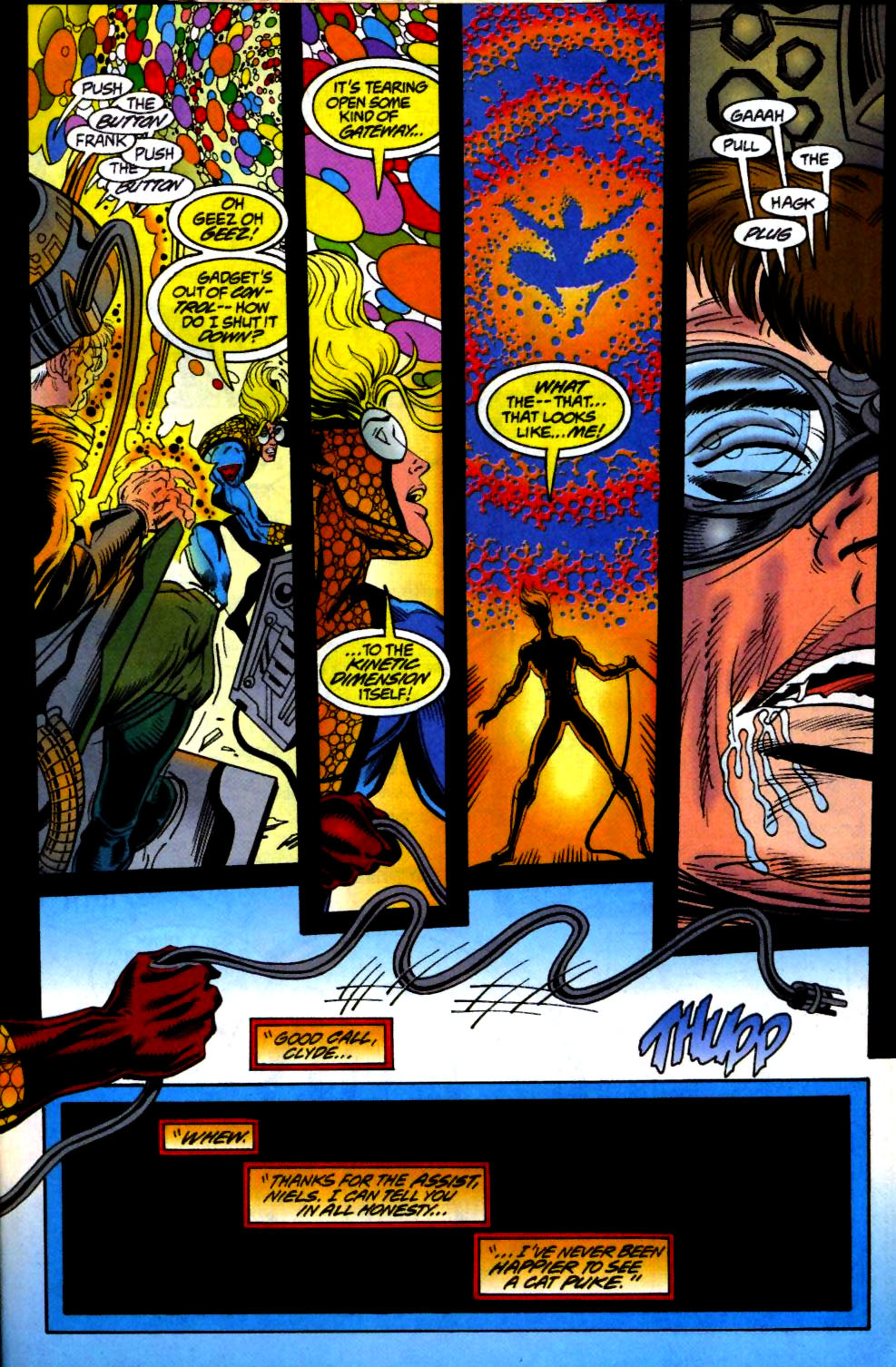 The New Warriors Issue #66 #70 - English 22
