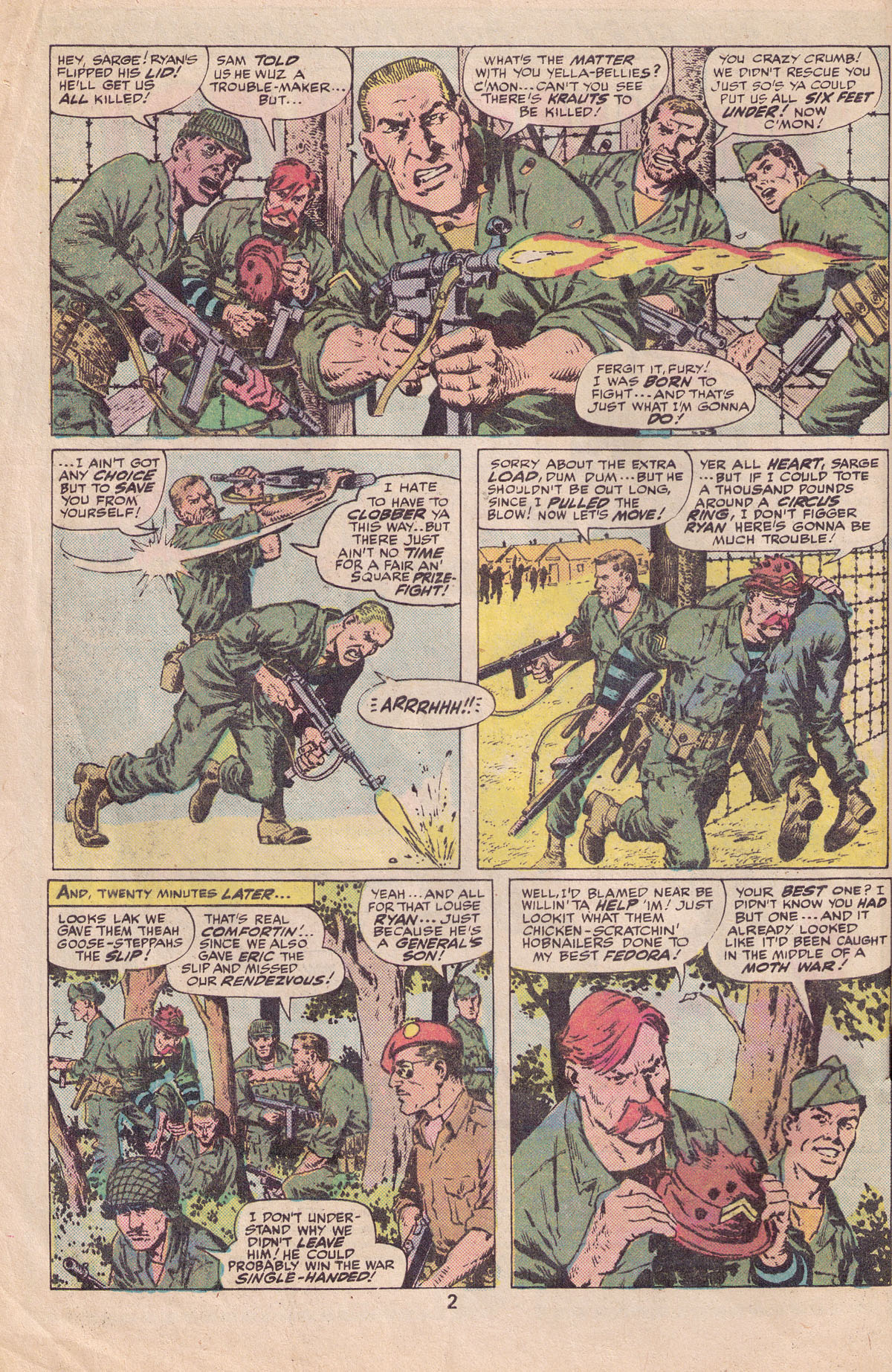 Read online Sgt. Fury comic -  Issue #140 - 4