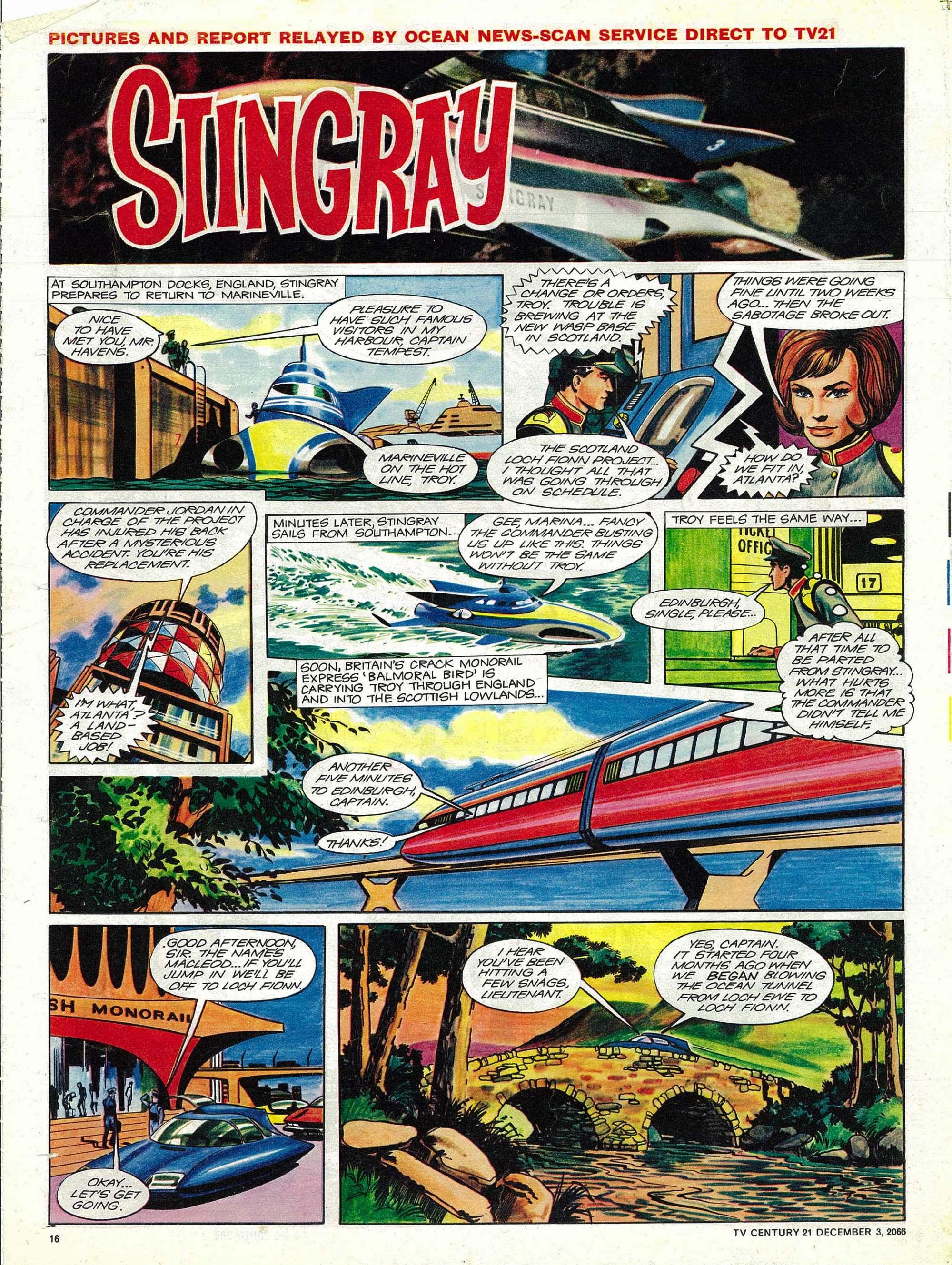 Read online TV Century 21 (TV 21) comic -  Issue #98 - 15