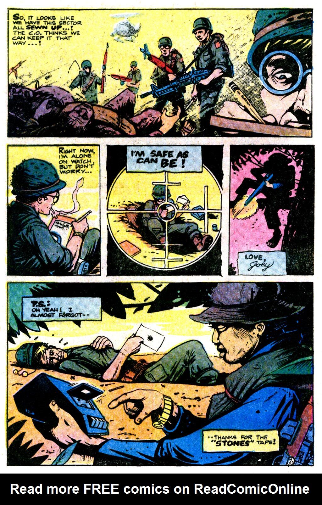 Read online Sgt. Rock comic -  Issue #354 - 23