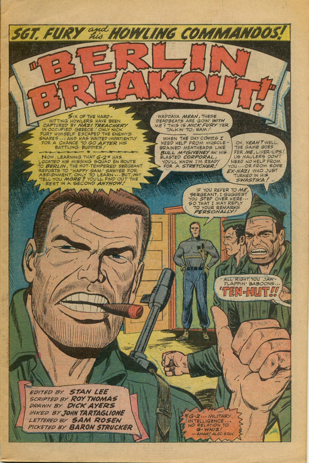 Read online Sgt. Fury comic -  Issue #35 - 3