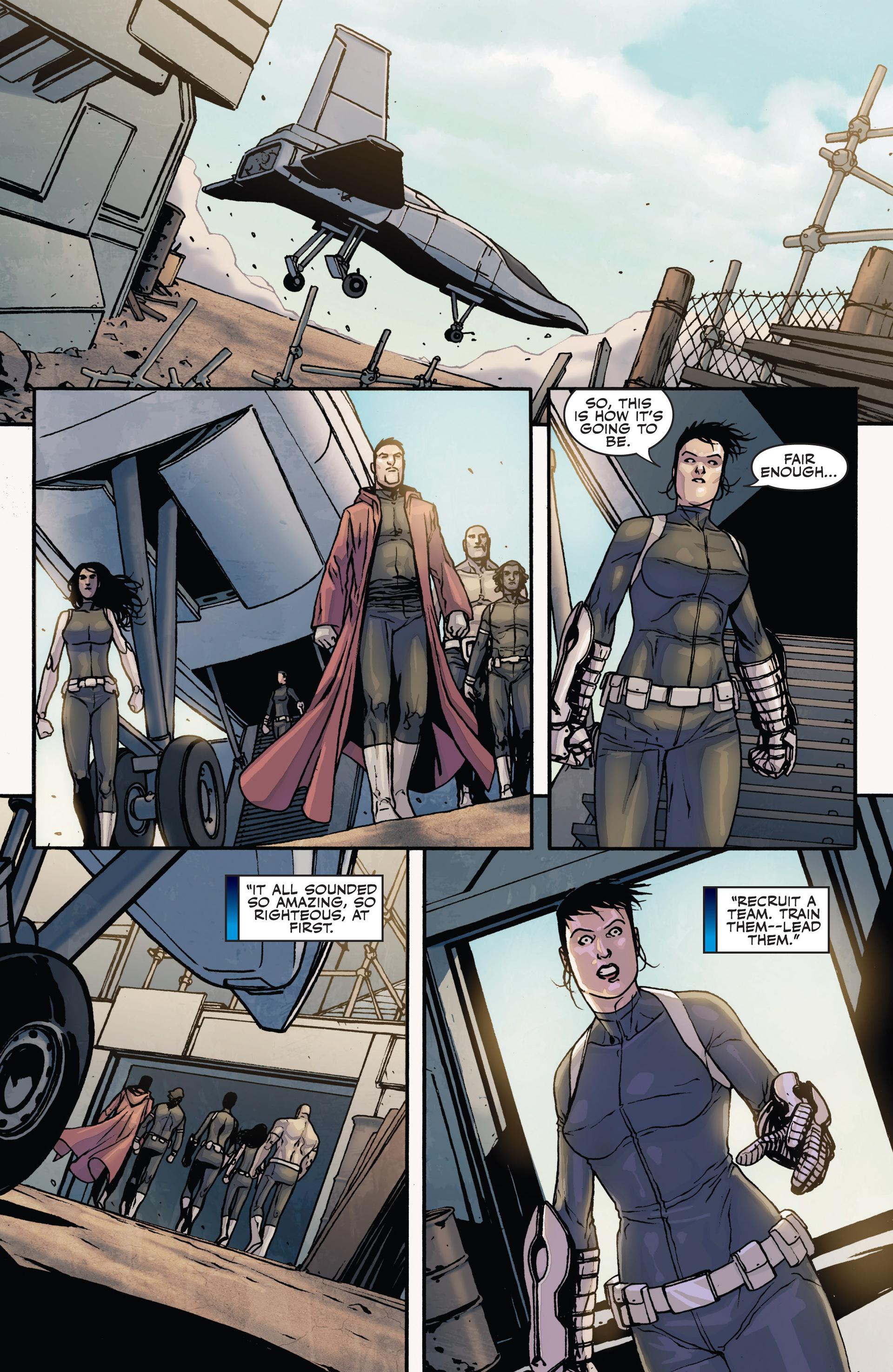 Read online Secret Warriors comic -  Issue #28 - 16