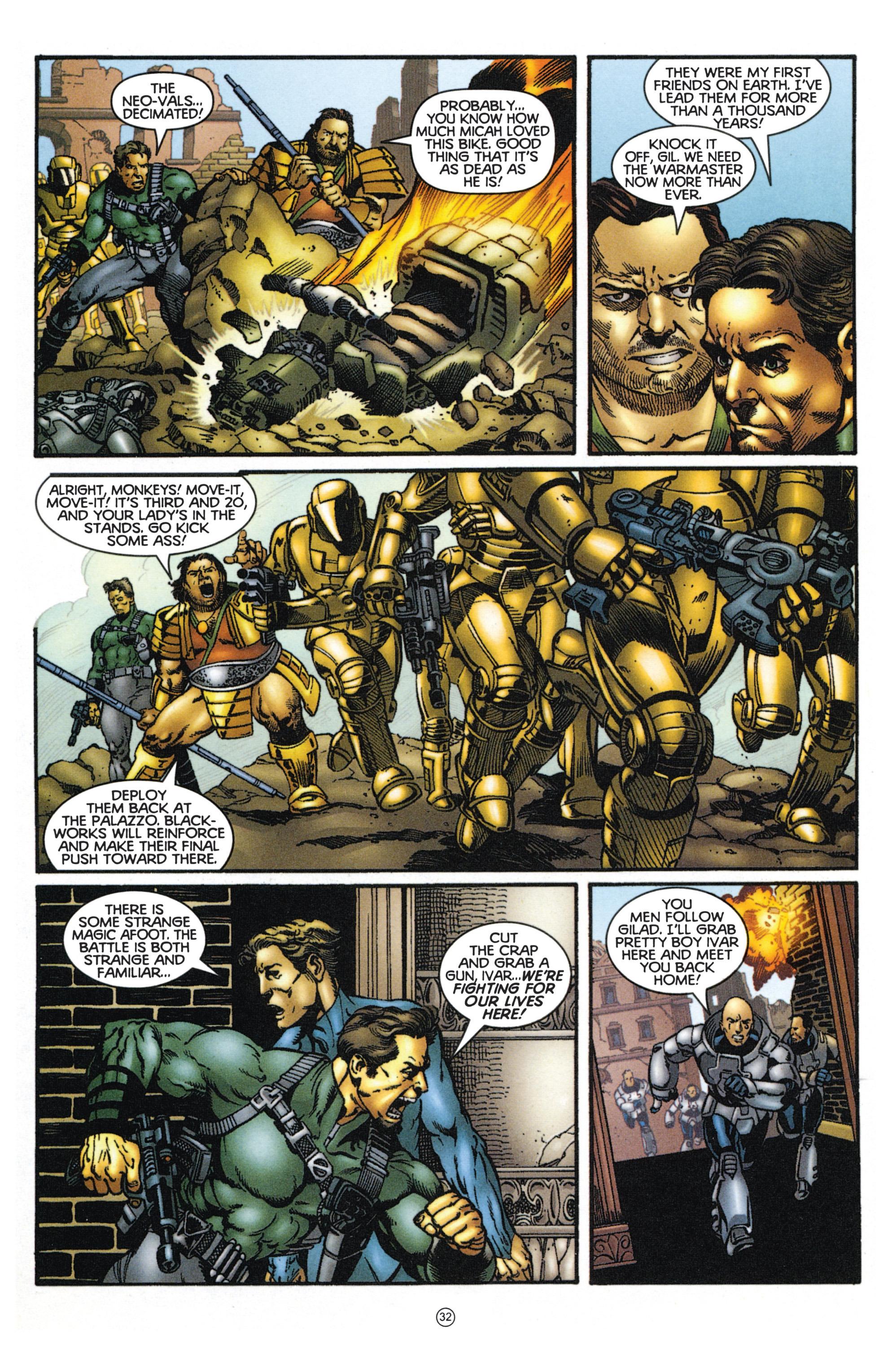 Read online Eternal Warriors comic -  Issue # Issue Mog - 28