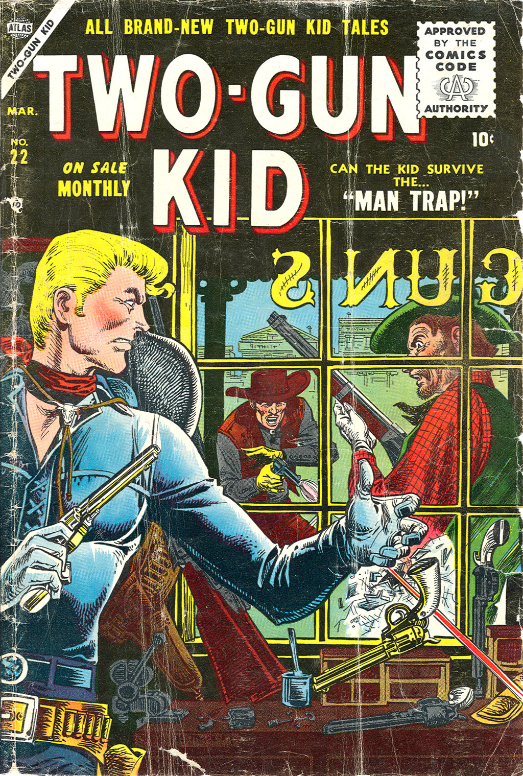 Read online Two-Gun Kid comic -  Issue #22 - 1