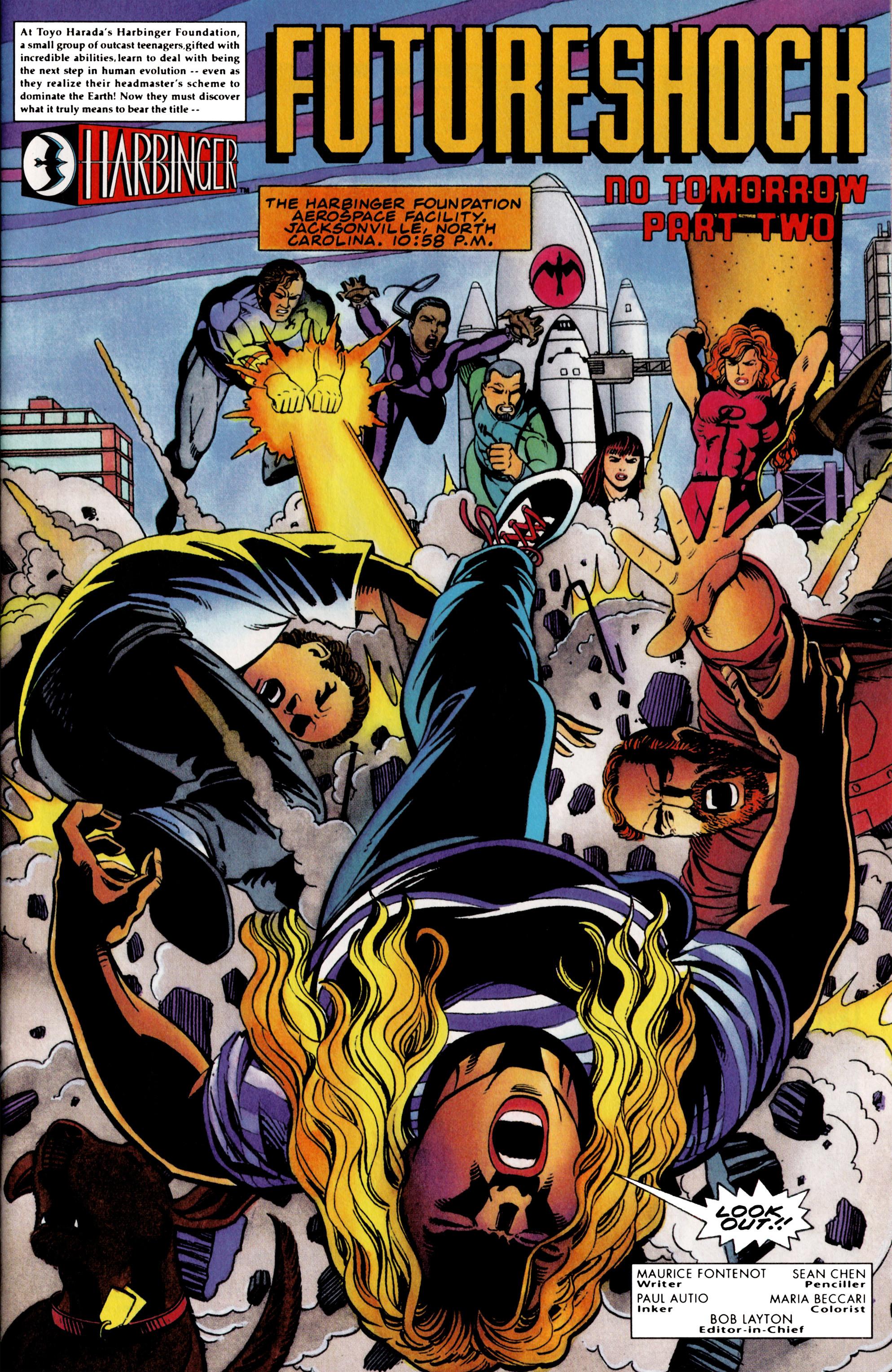Read online Harbinger (1992) comic -  Issue #36 - 2