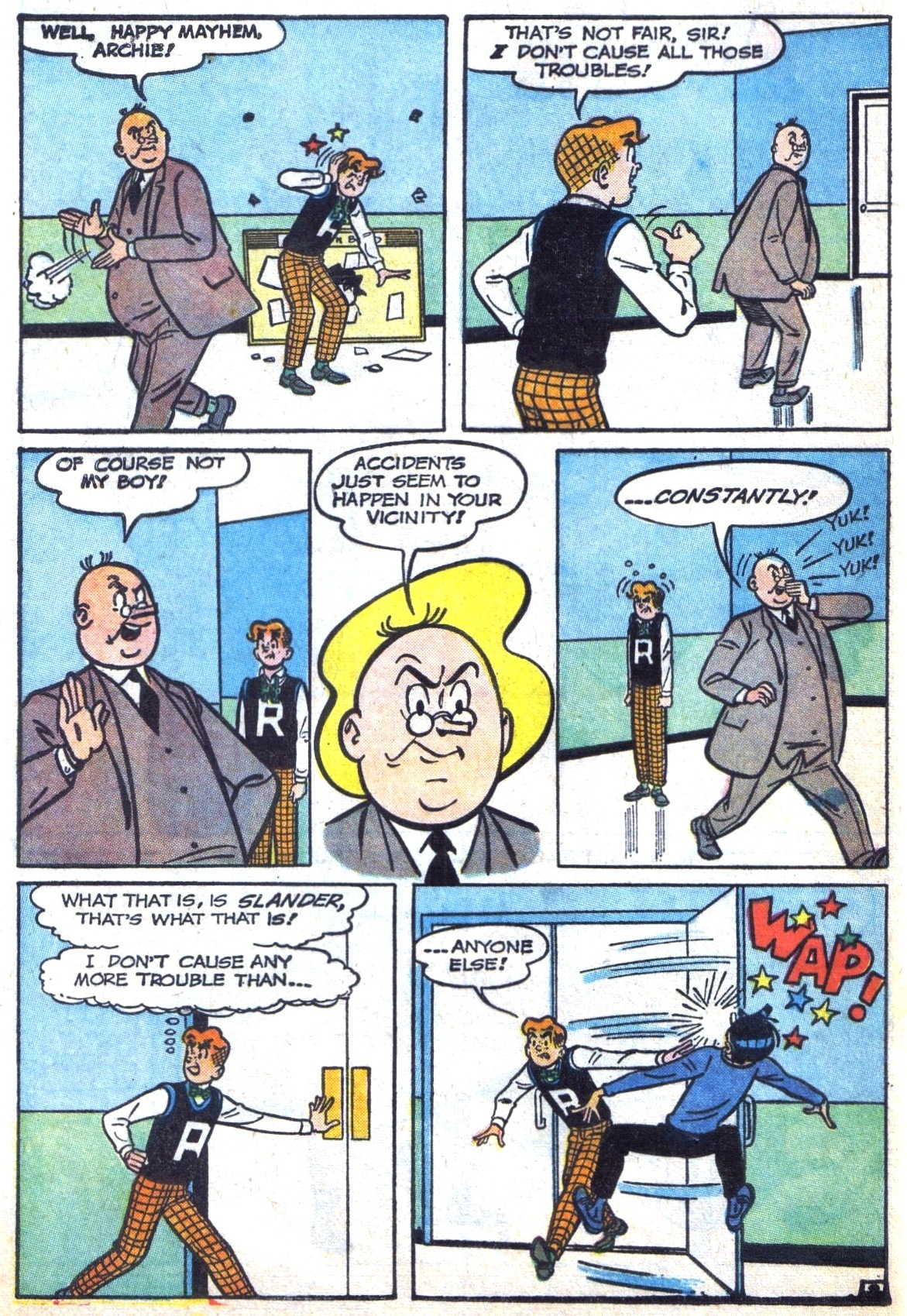 Read online Archie (1960) comic -  Issue #142 - 4