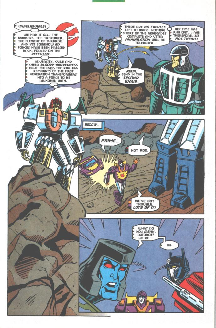 Read online Transformers: Generation 2 comic -  Issue #10 - 10