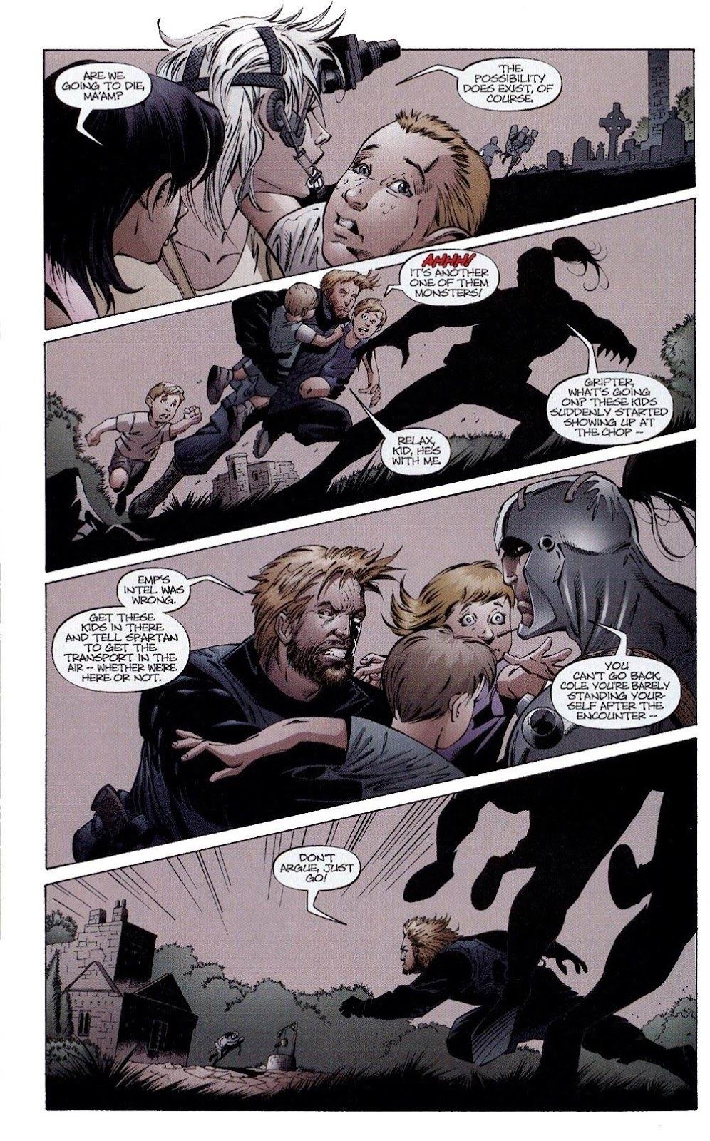 Wildcats (1999) Issue #4 #5 - English 16