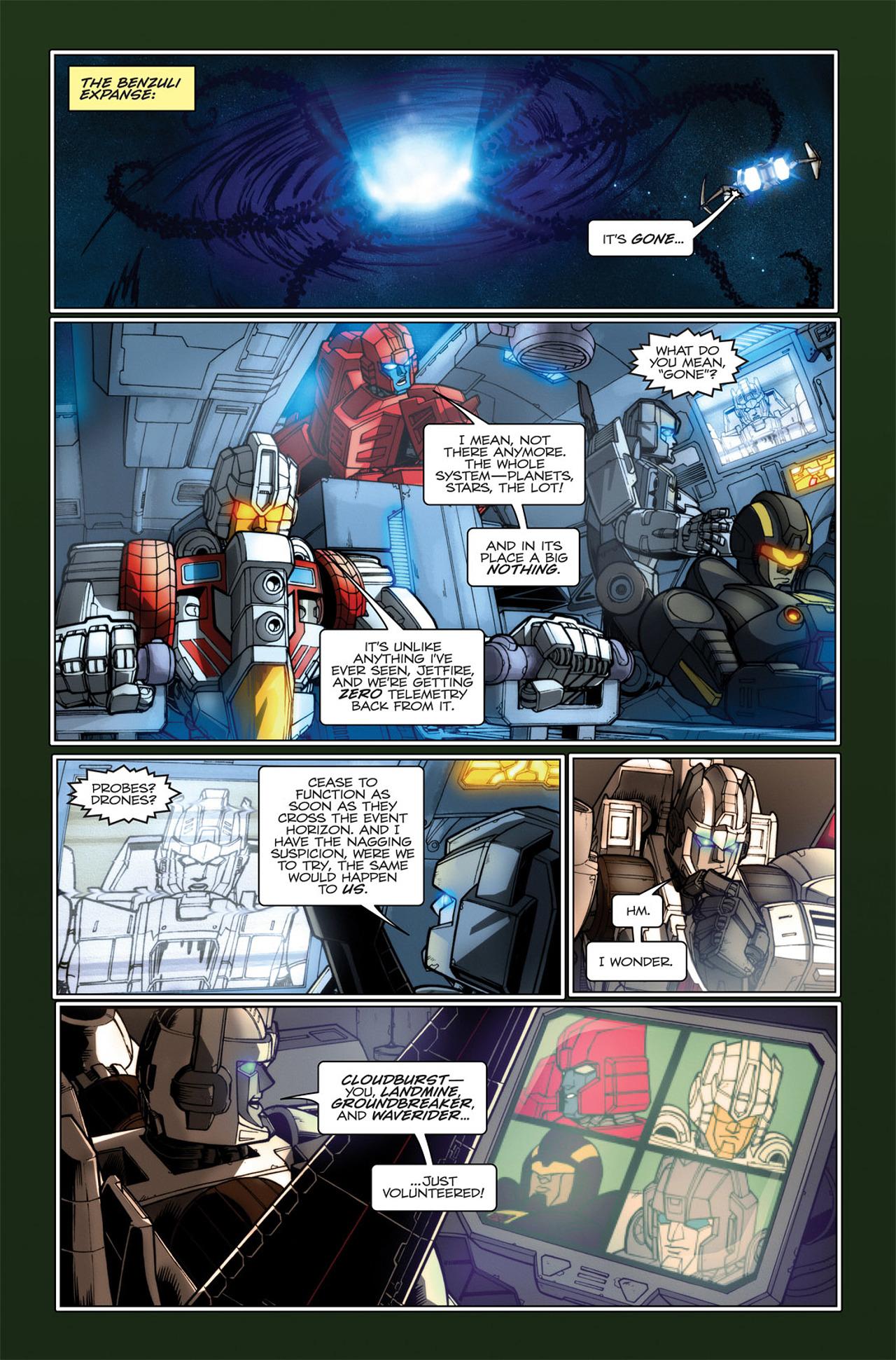 Read online Transformers Spotlight: Hardhead comic -  Issue # Full - 25