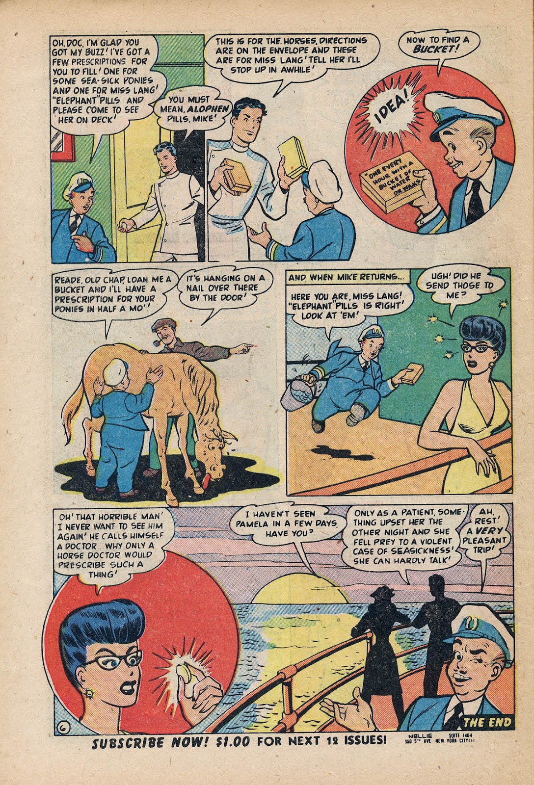 Nellie The Nurse (1945) issue 27 - Page 8