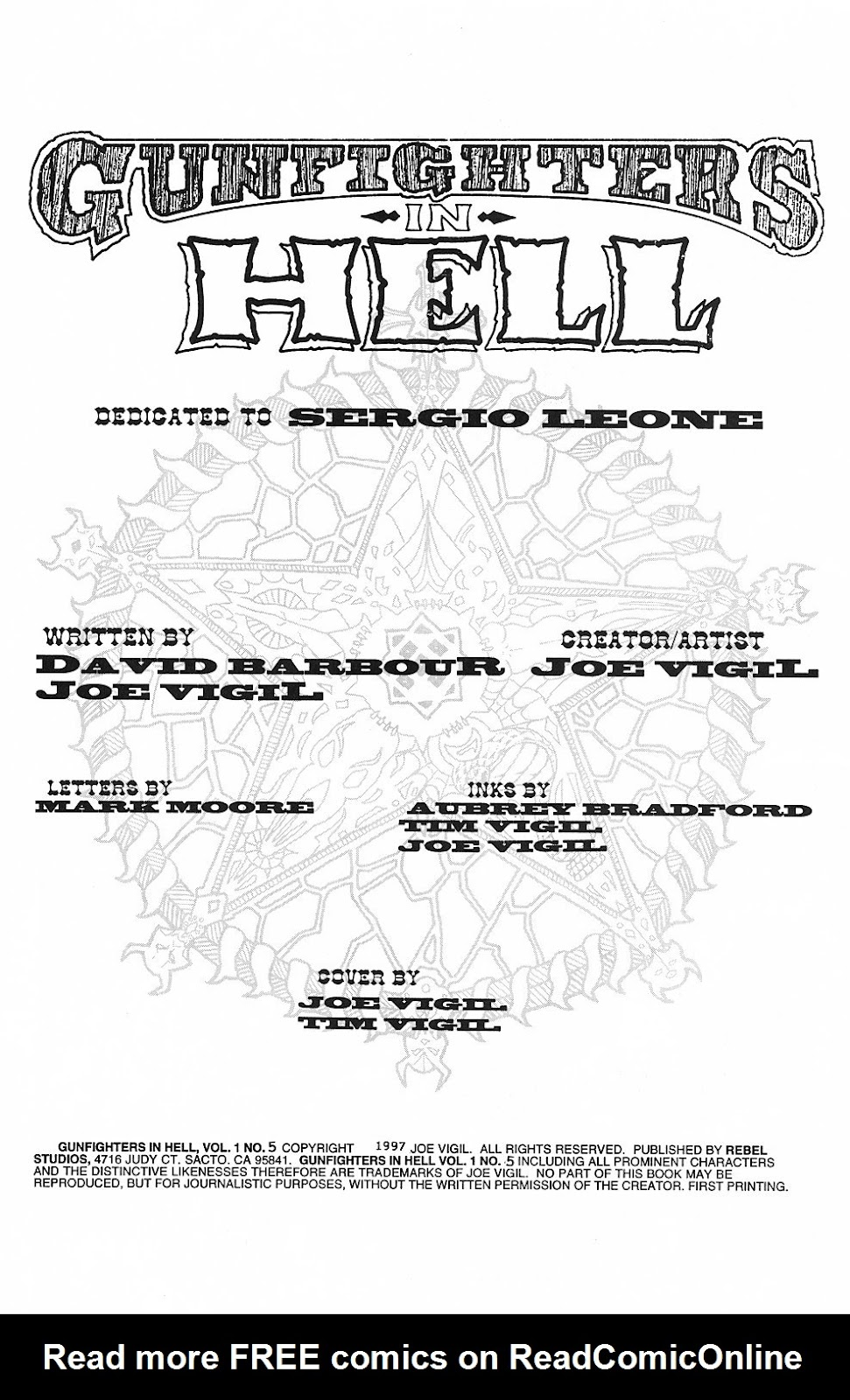 Read online Gunfighters in Hell comic -  Issue #5 - 4