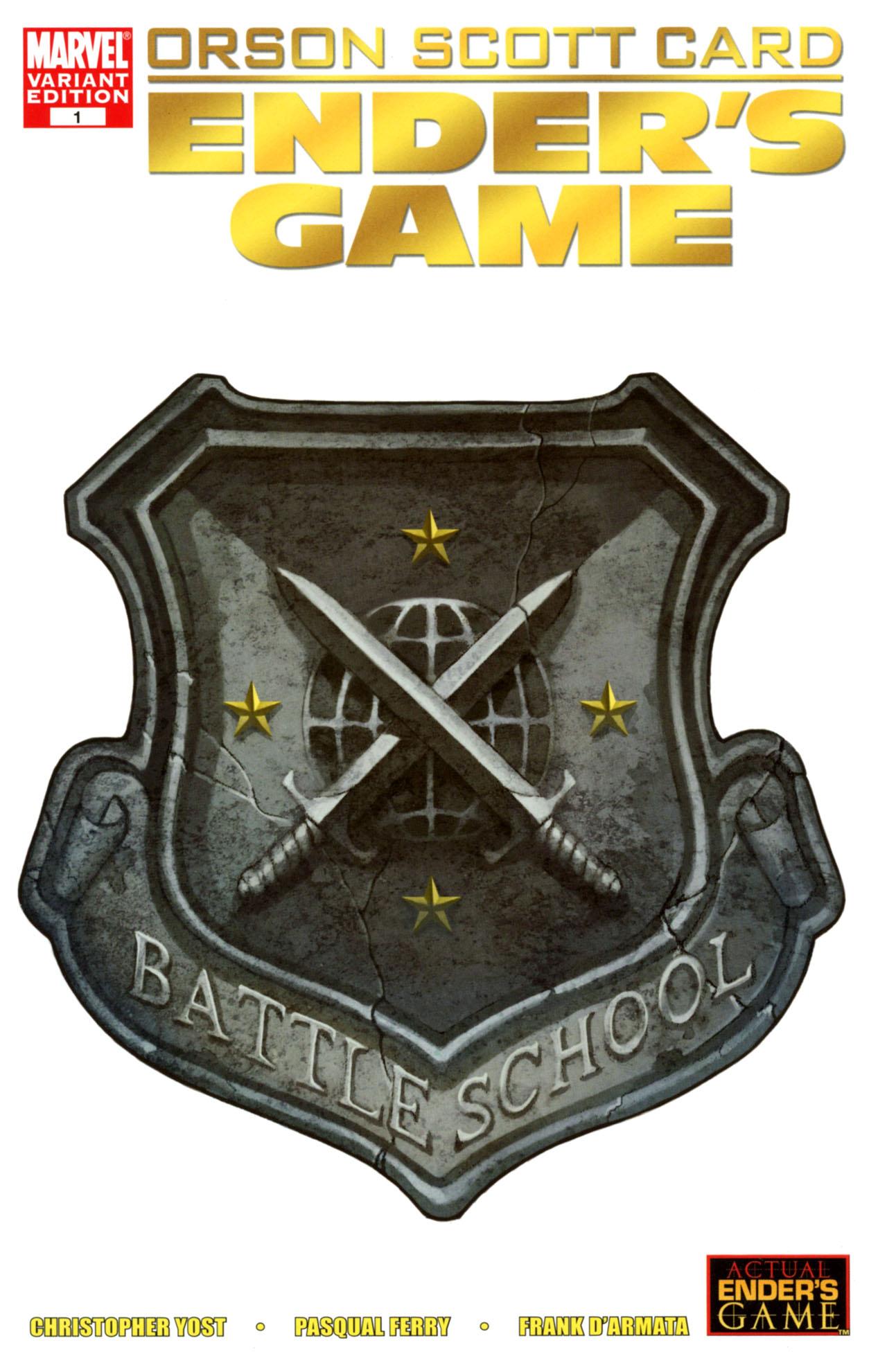 Read online Ender's Game: Battle School comic -  Issue #1 - 2