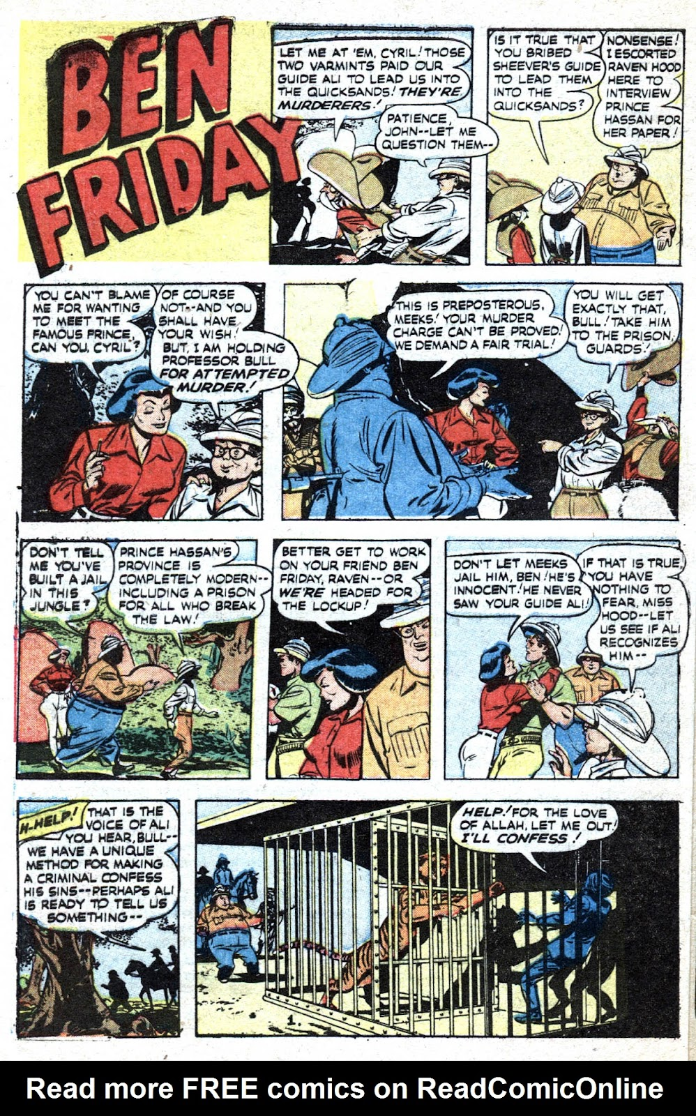 Read online Famous Funnies comic -  Issue #193 - 40