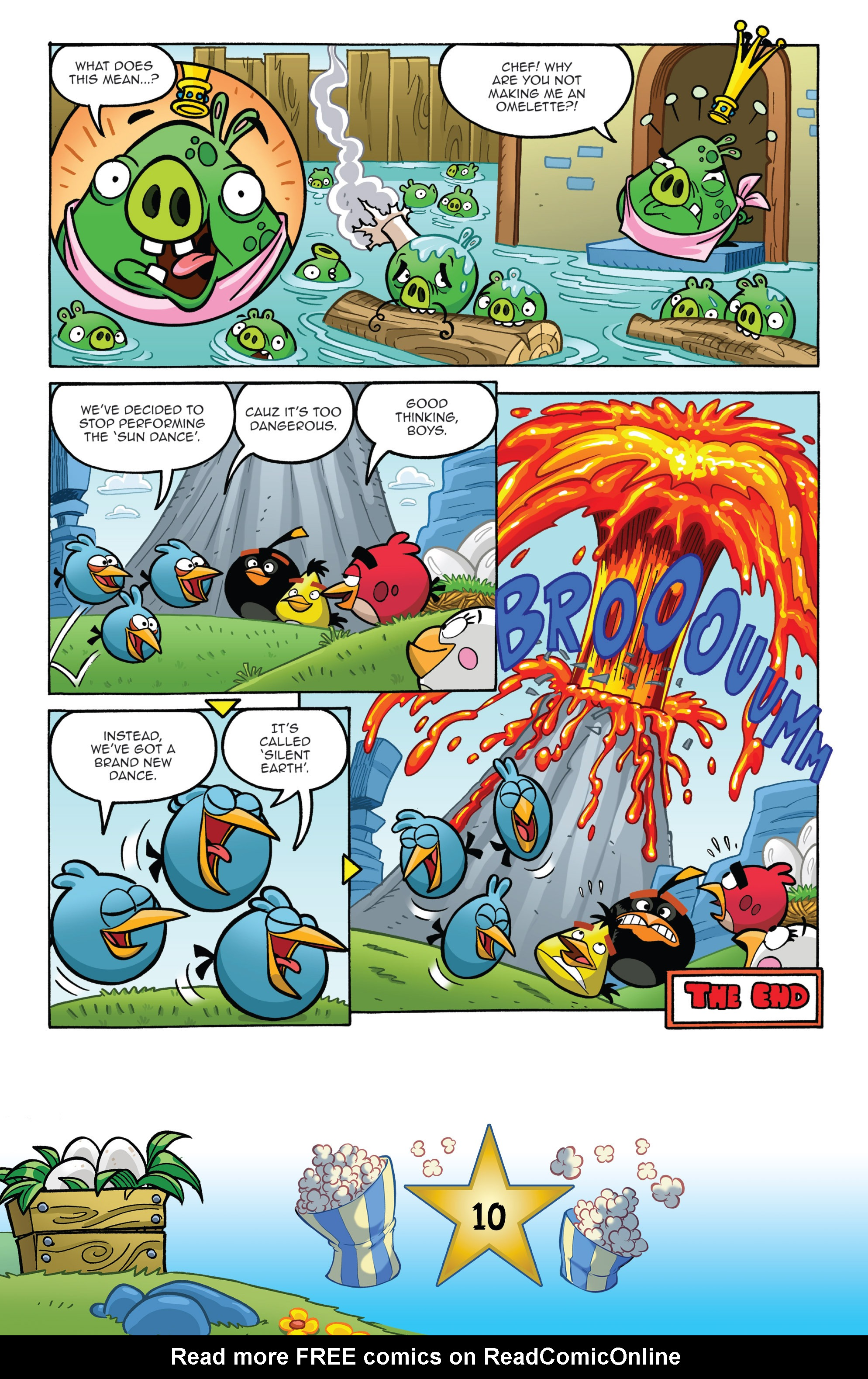 Read online Angry Birds Comics (2016) comic -  Issue #5 - 12